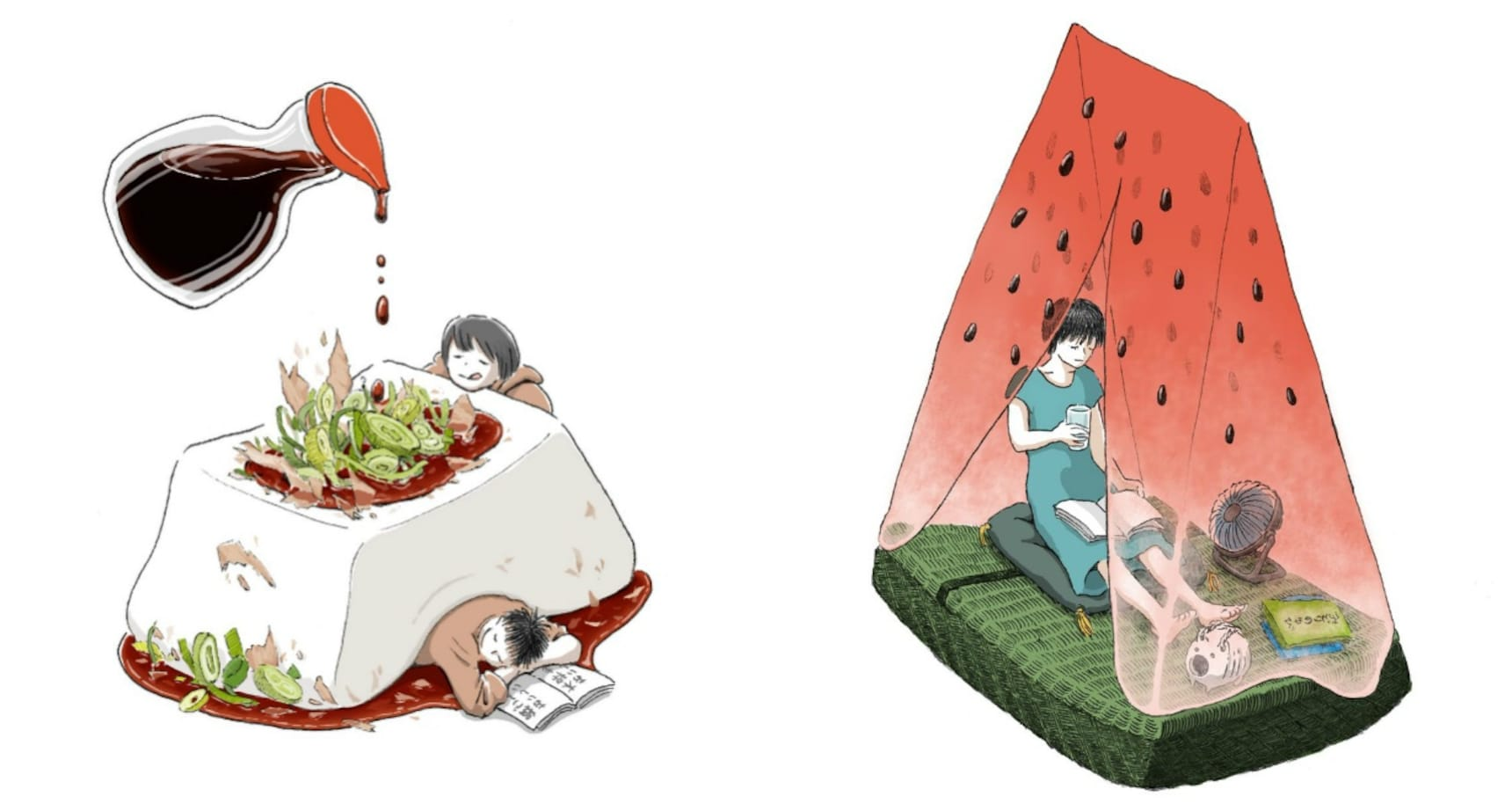 Surreal Illustrations Are a Slice of Life
