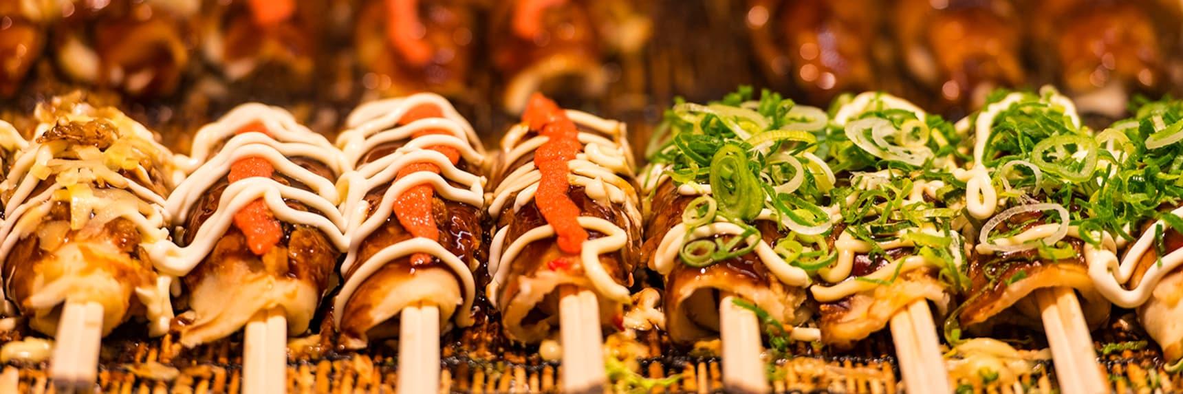축제 음식으로 인기 있는 텟판야끼 BEST 5