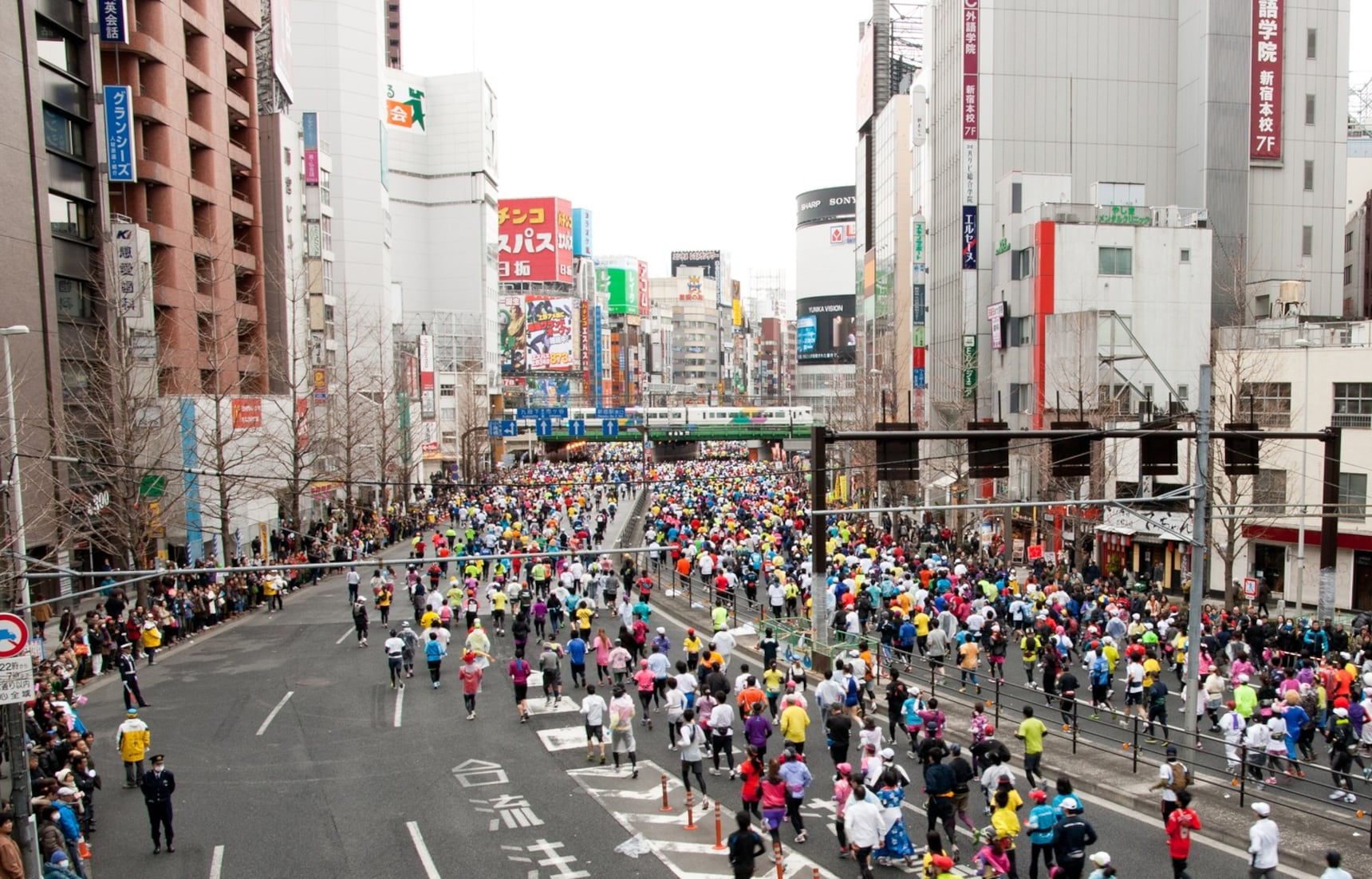รวมงานวิ่งมาราธอนในญี่ปุ่น