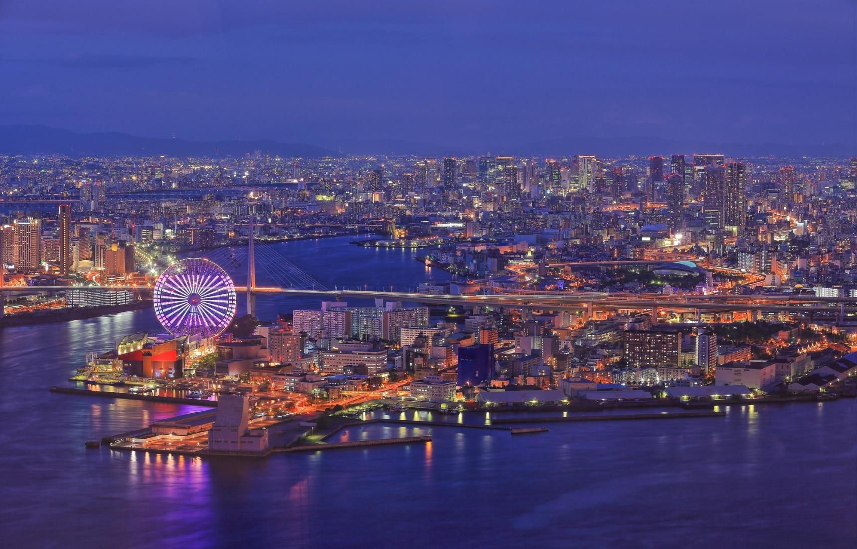 5 จุดชมวิวมุมสูงในเมืองโอซาก้า