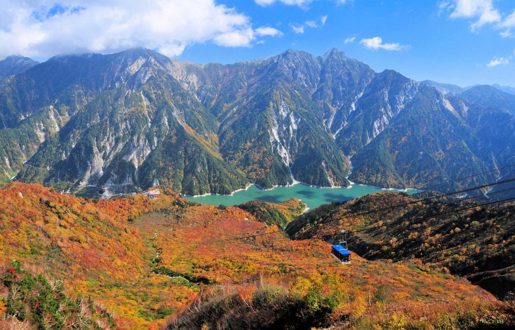 วิธีเที่ยวเส้นทางบนภูเขา Tateyama Kurobe