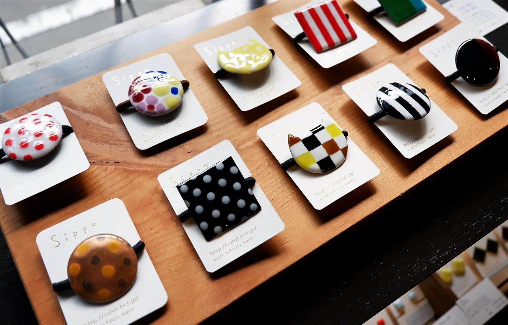 【京都自由行】不會日語也能體驗傳統京都工藝|上京區和風手作小店Salut