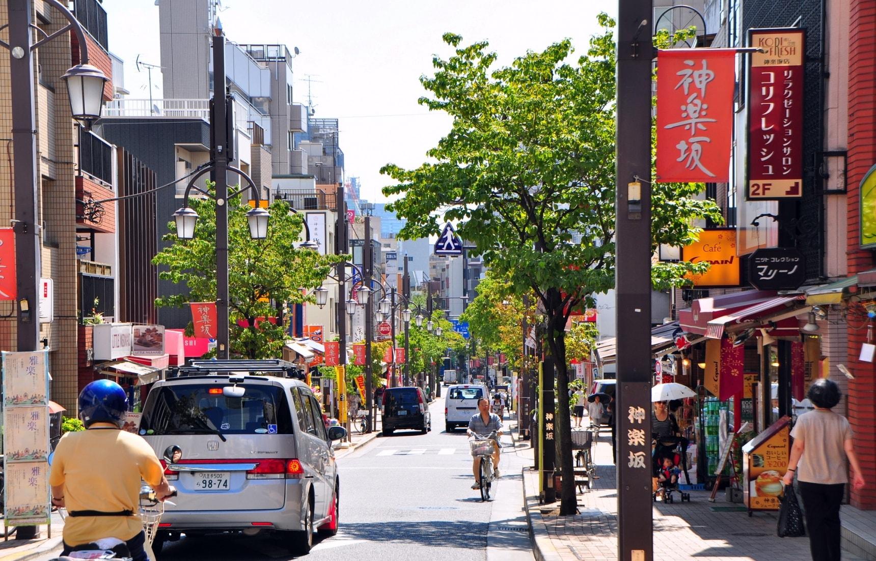 東京一日散策行程|到神樂坂偶遇日式傳統與法式風情