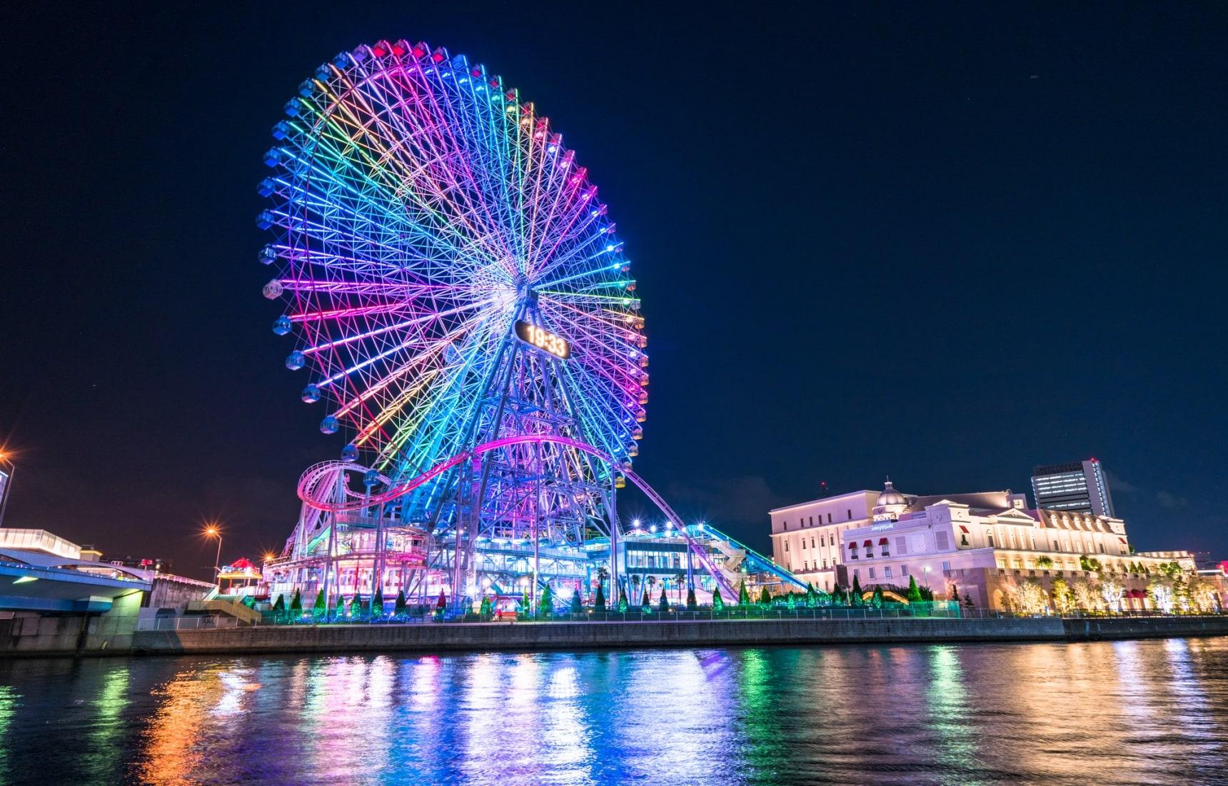 กินลมชมวิวกับ 10 สุดยอดชิงช้าสวรรค์ของญี่ปุ่น