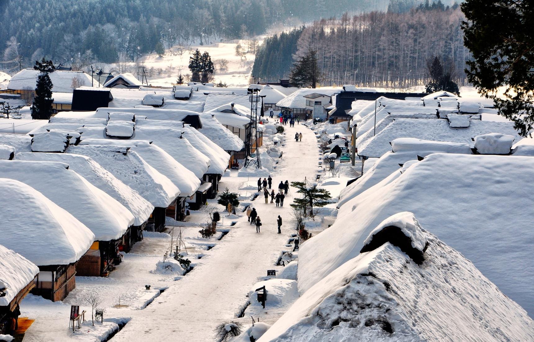 10 จุดถ่ายรูปวิวสุดสวยของญี่ปุ่นฤดูหนาว