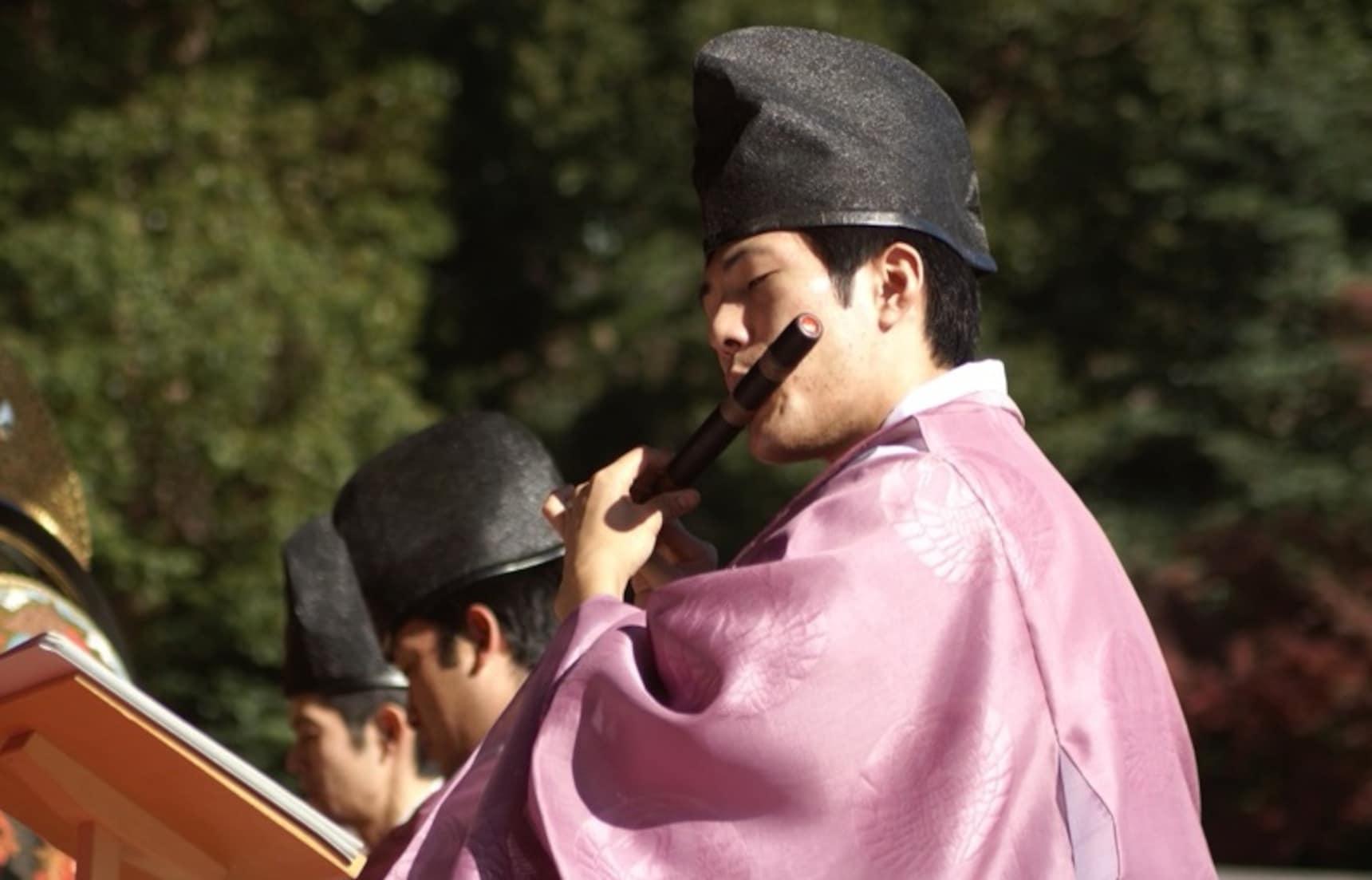 รอบรู้เรื่องเครื่องดนตรีญี่ปุ่น ภาคเครื่องเป่า