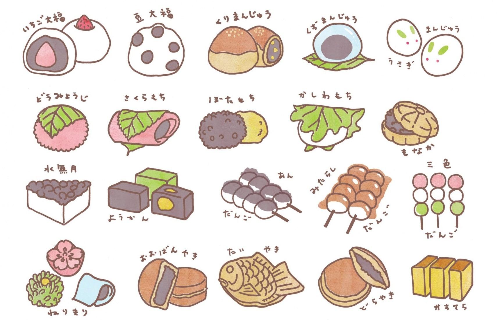 รวมขนมหวานญี่ปุ่น 10 ชนิดที่น่าลิ้มลอง