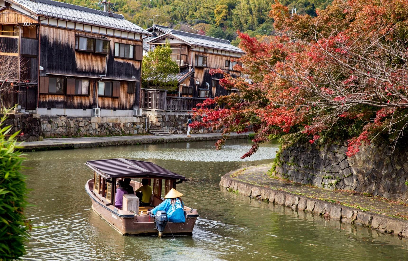 【關西自由行】京都出發一日小旅行!宛如置身世外桃源般的滋賀・近江八幡景點介紹