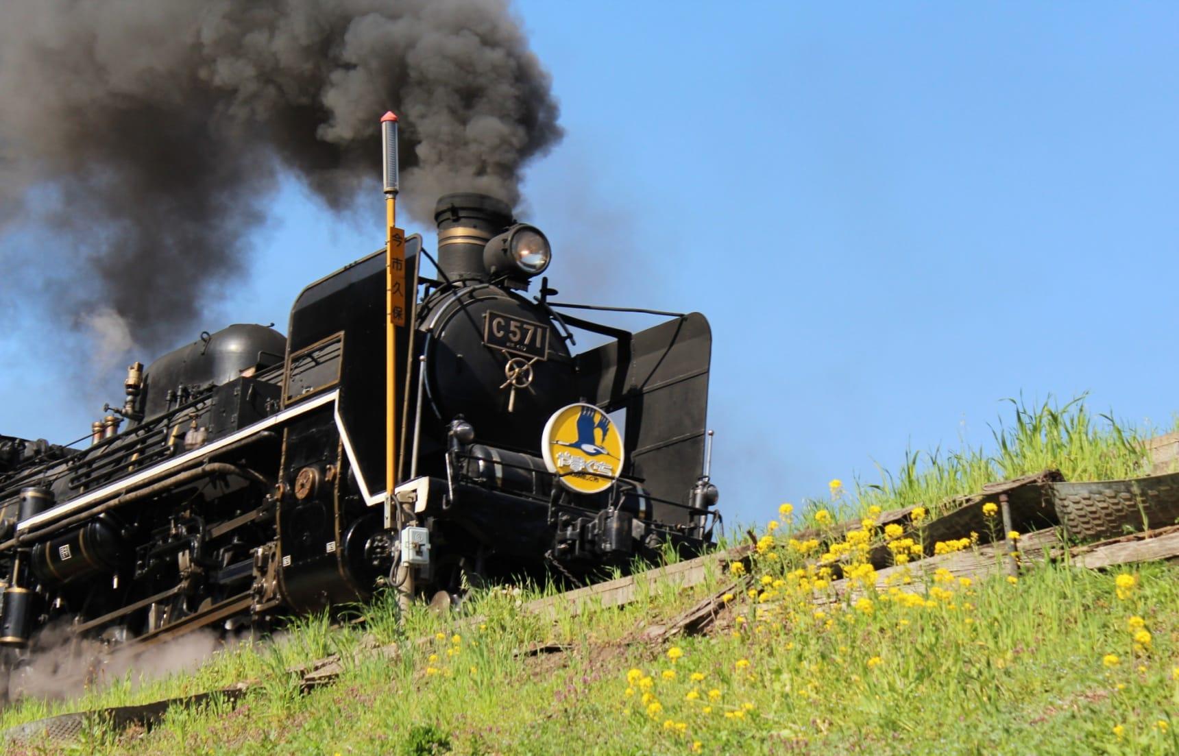 一日鐵道迷!搭乘蒸汽火車「SL山口號」來趟懷舊浪漫之旅