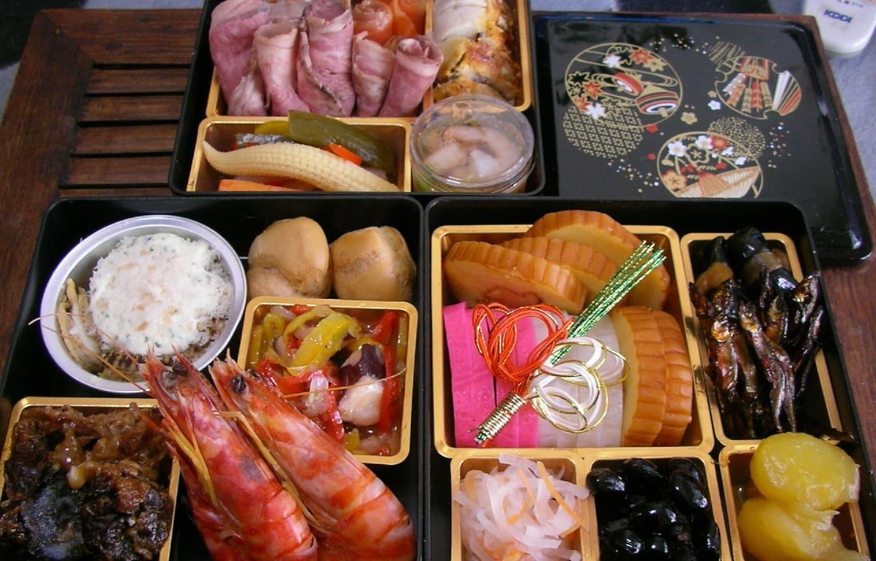 'โอเซจิเรียวริ' อาหารปีใหม่ที่มีแต่ความหมายดีๆ
