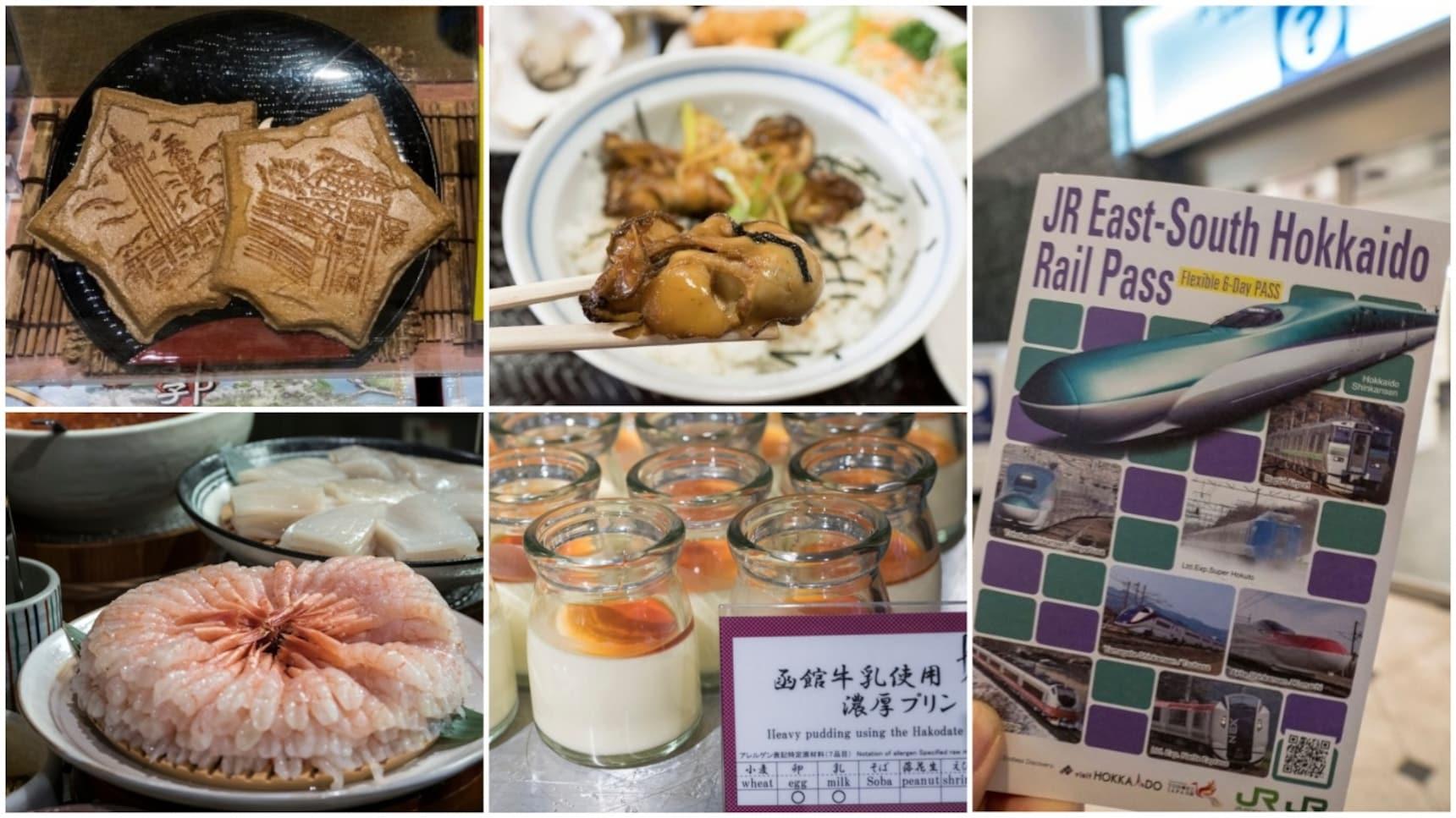 美食吃不停!帶著「JR東日本.南北海道鐵路周遊券」一路從東京玩到東北和函館