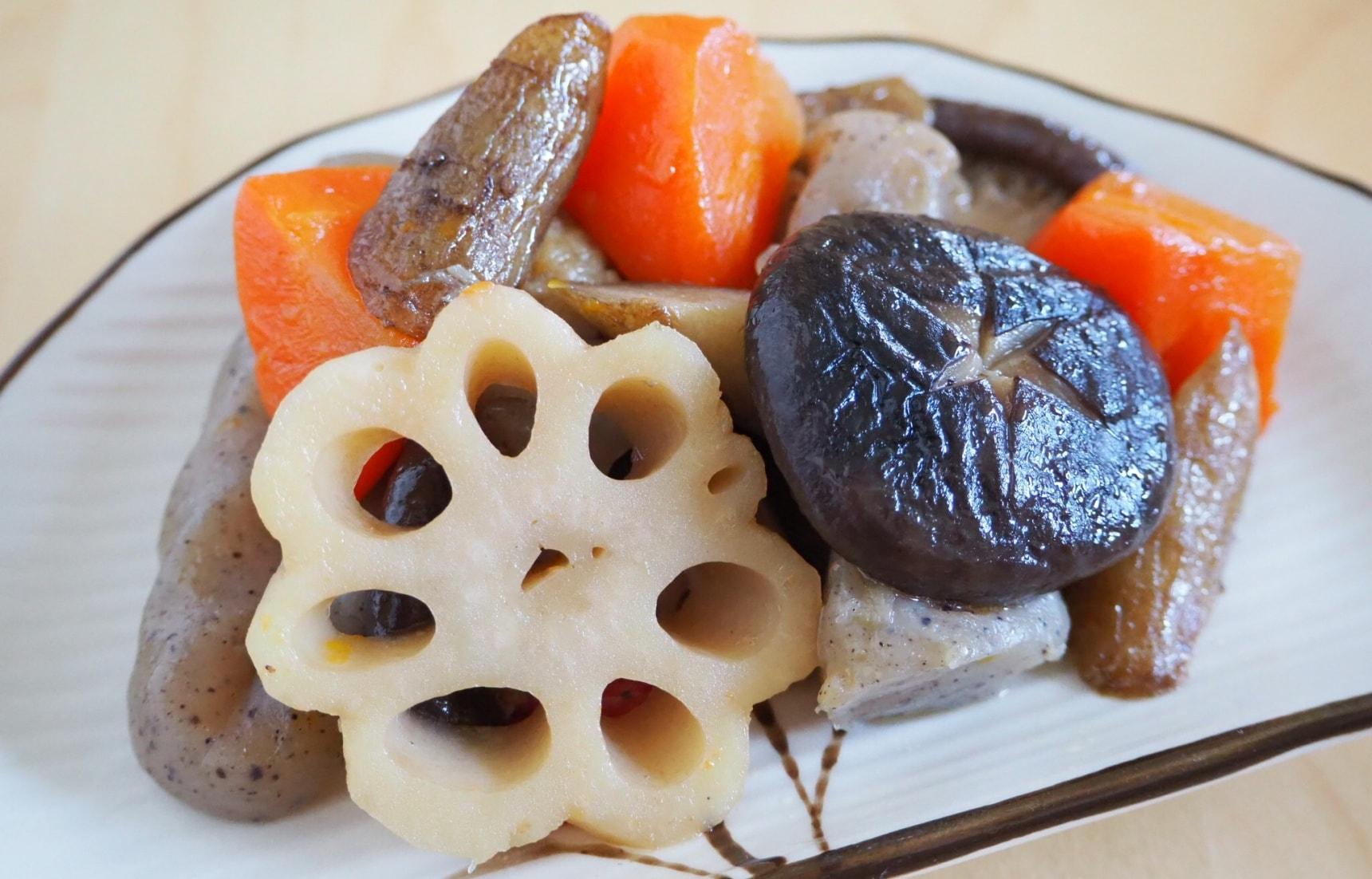 สูตร โอนิชิเมะ ผักตุ๋นแบบญี่ปุ่น