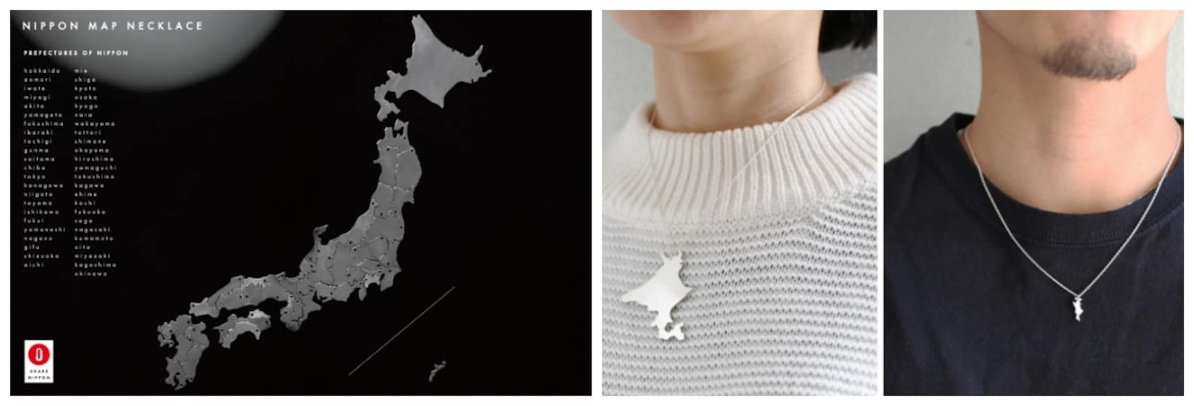 Rep Your Prefectural Pride with Cool Necklaces