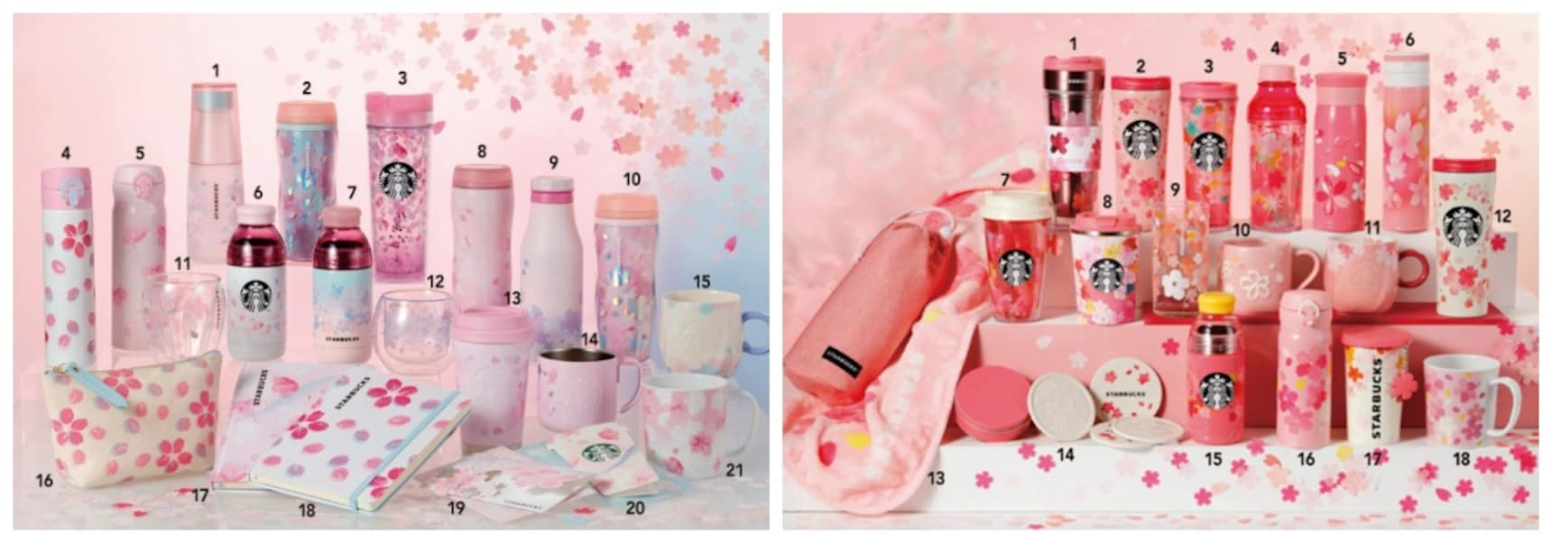 Starbucks Releases 2019 Cherry Blossom Merch