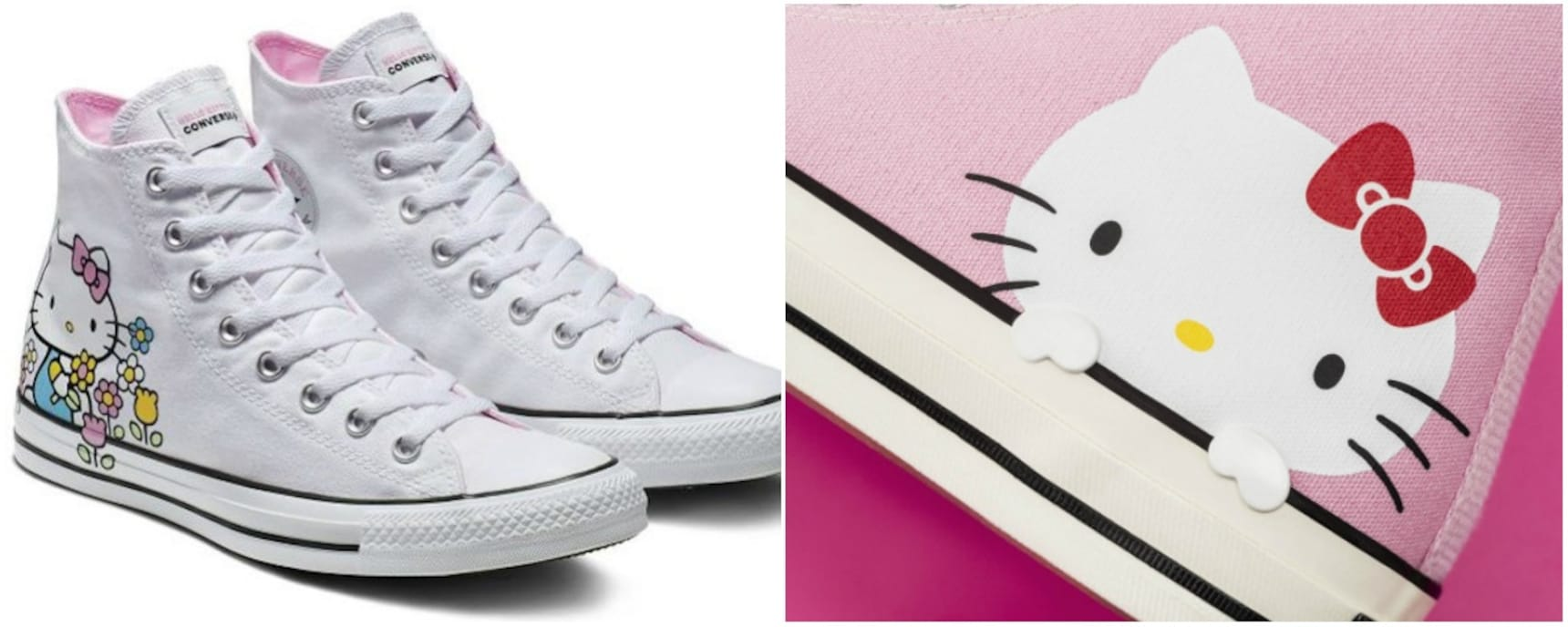 Hello Kitty Coming to Converse Sneakers!