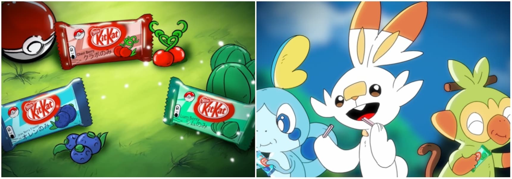 Pokémon Meets KitKat in Awesome Animated Ad