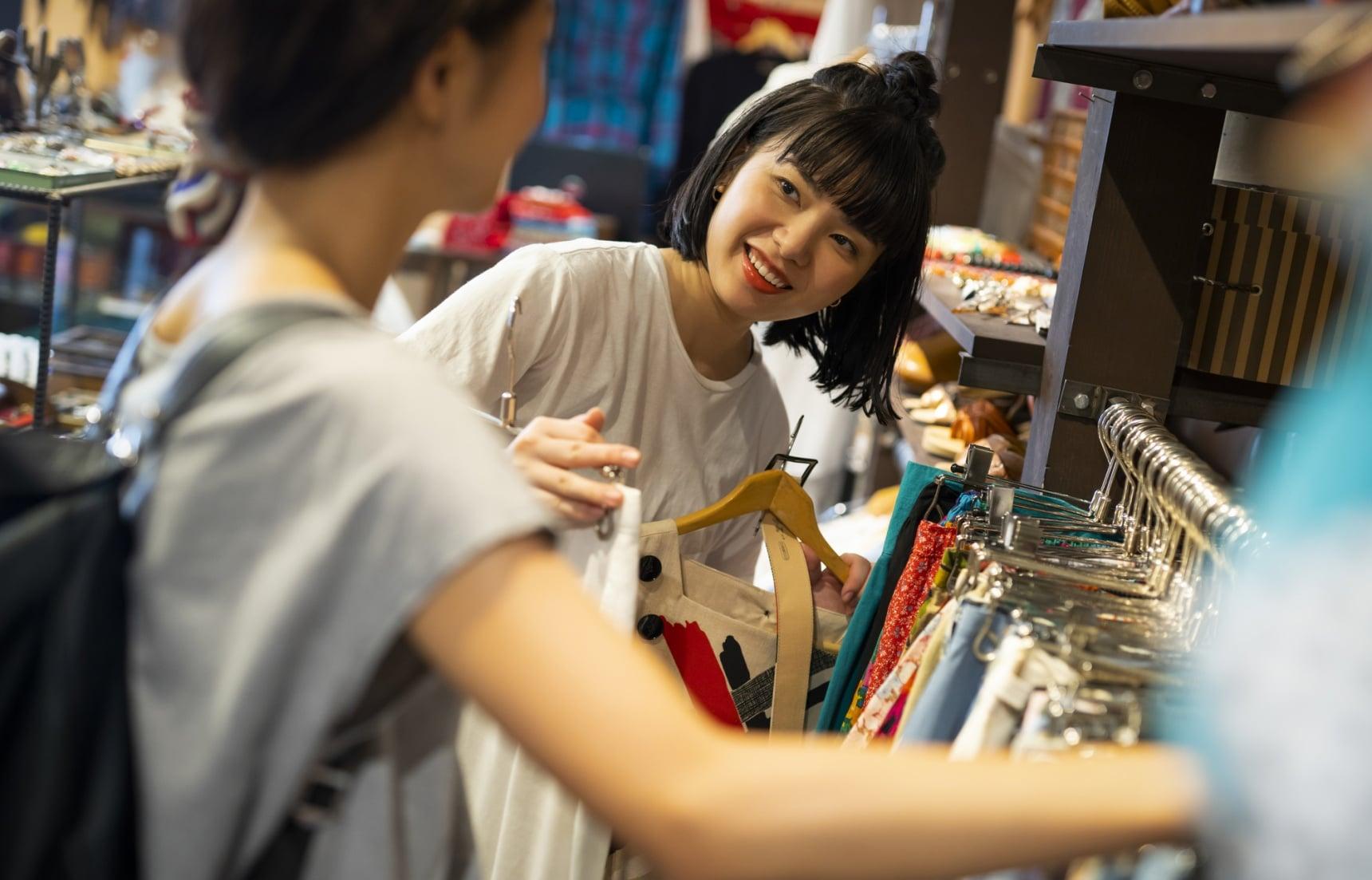 【旅遊日文】日本掃貨購物常用的10句日文