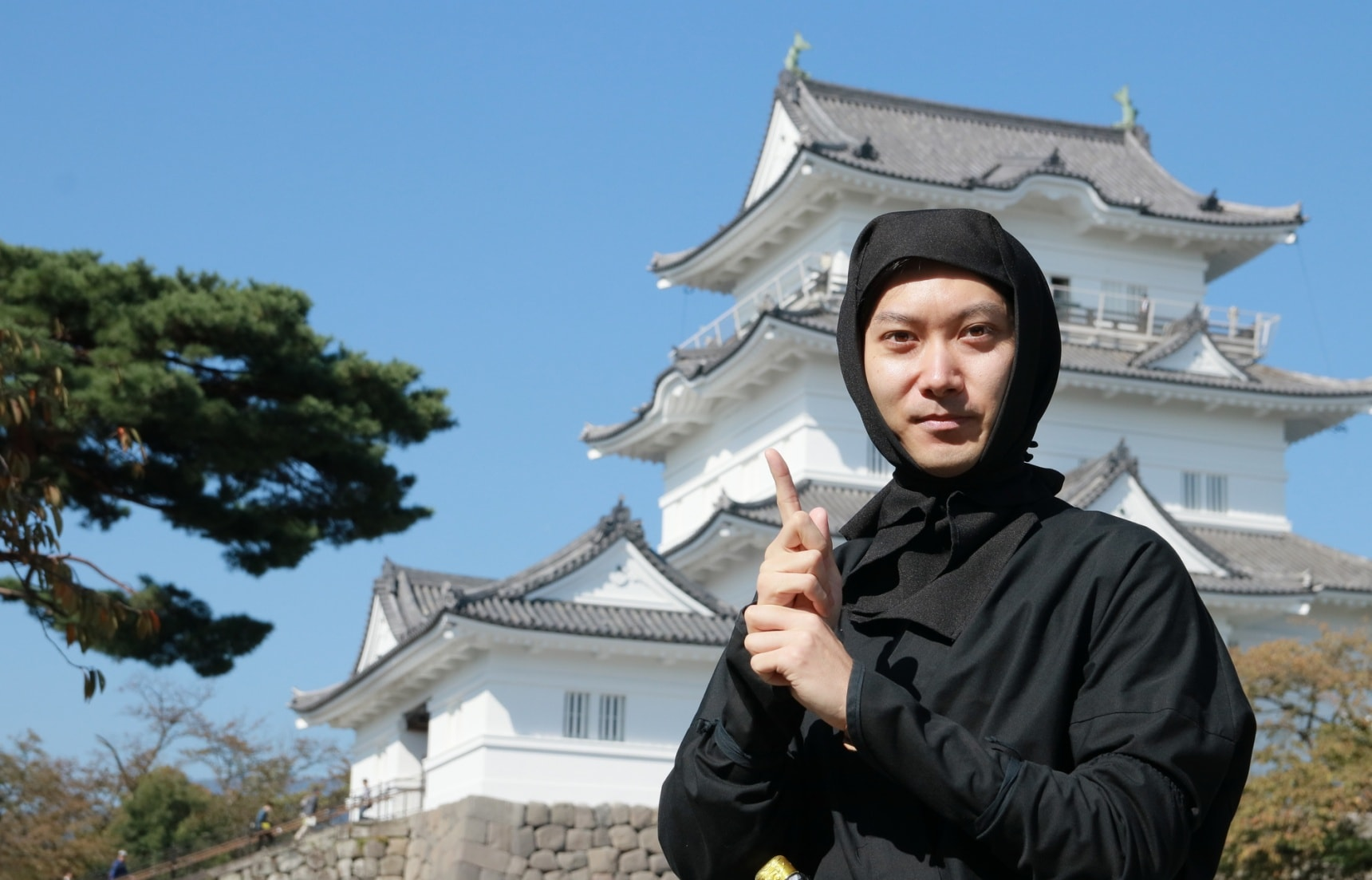 Become a Ninja at Odawara Castle