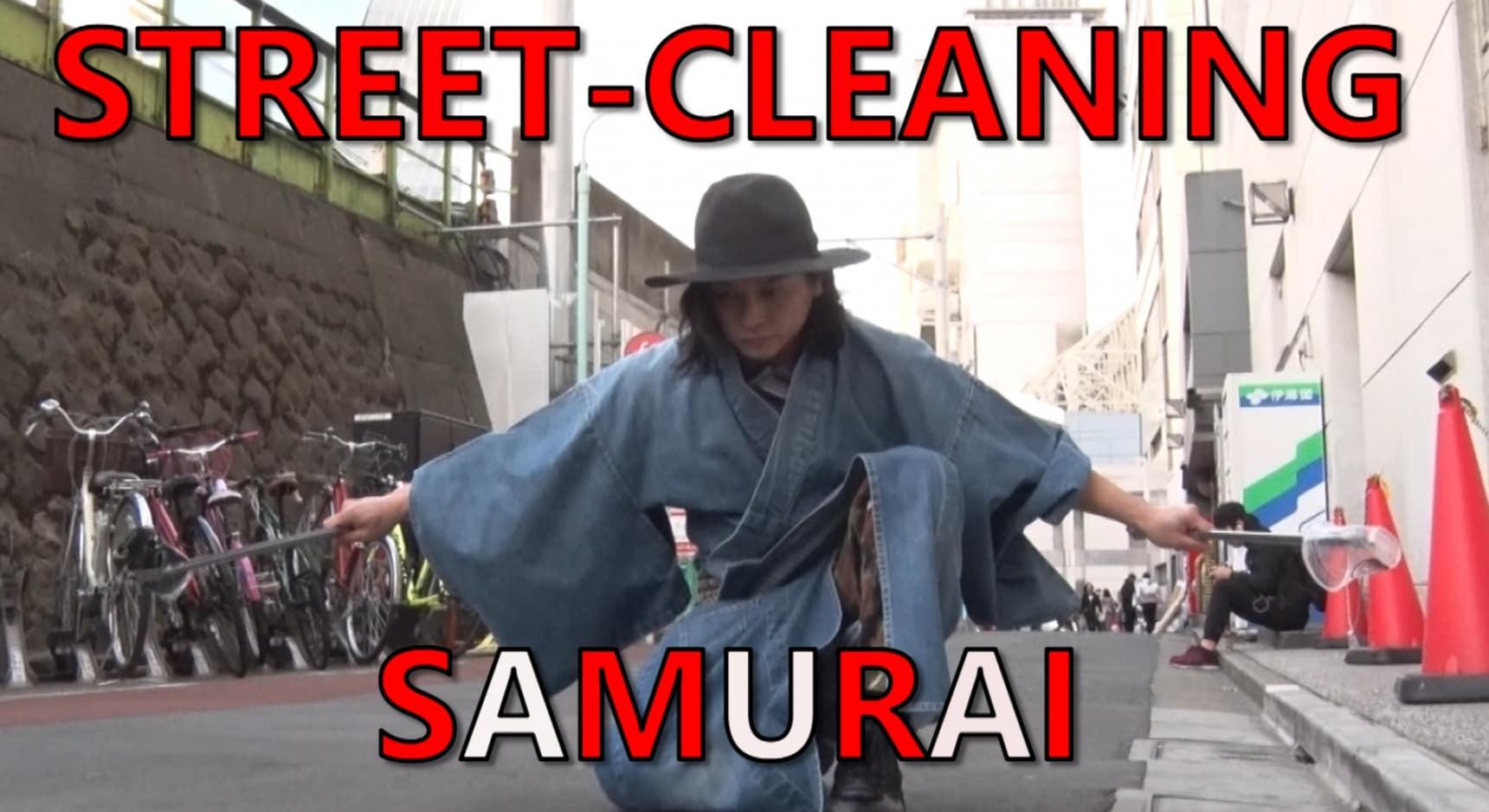 Samurai Clean the Mean Streets of Tokyo