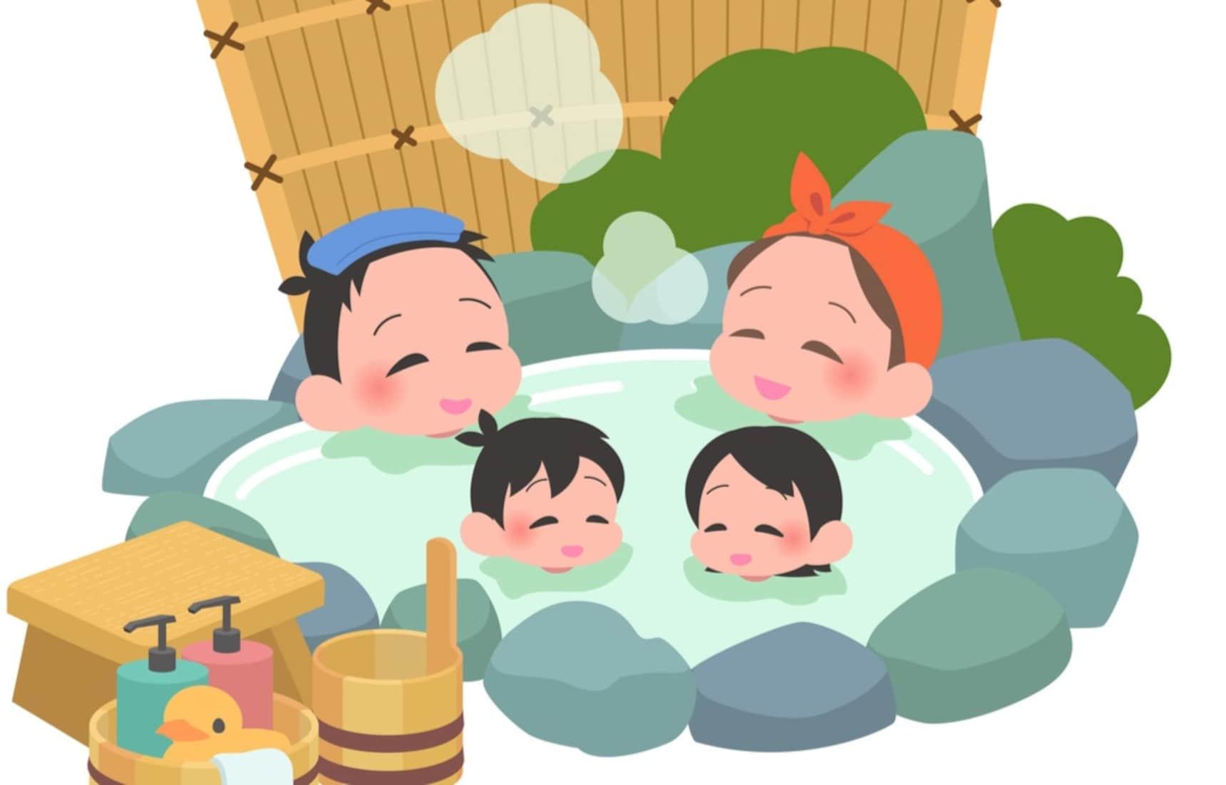 【旅日必知】寶寶可以跟爸媽一起泡溫泉嗎?歡迎小孩的住宿設施怎麼找?