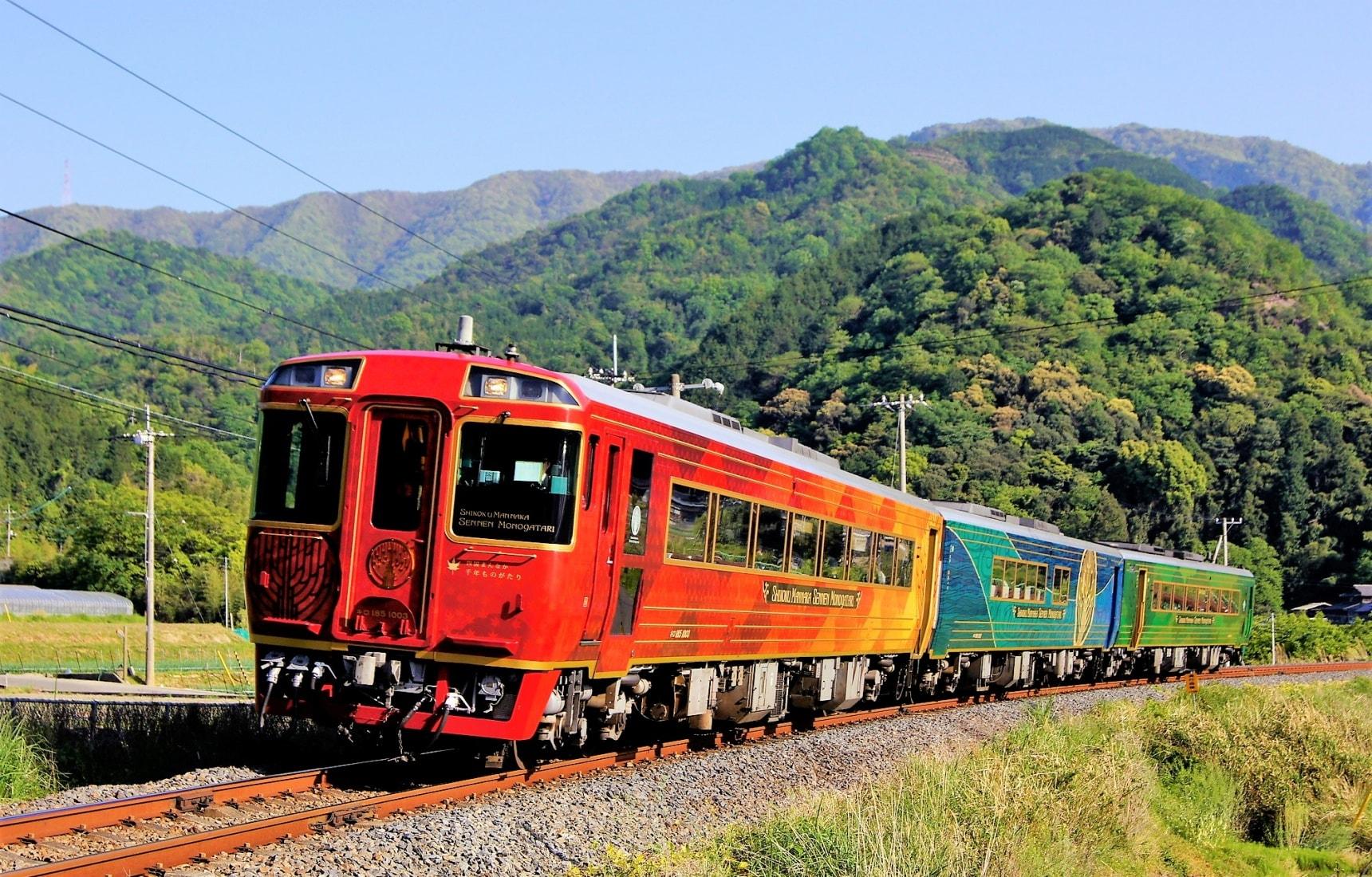【日本觀光列車特輯・四國篇】搭乘「四國正中千年物語」感受自然與當地熱情