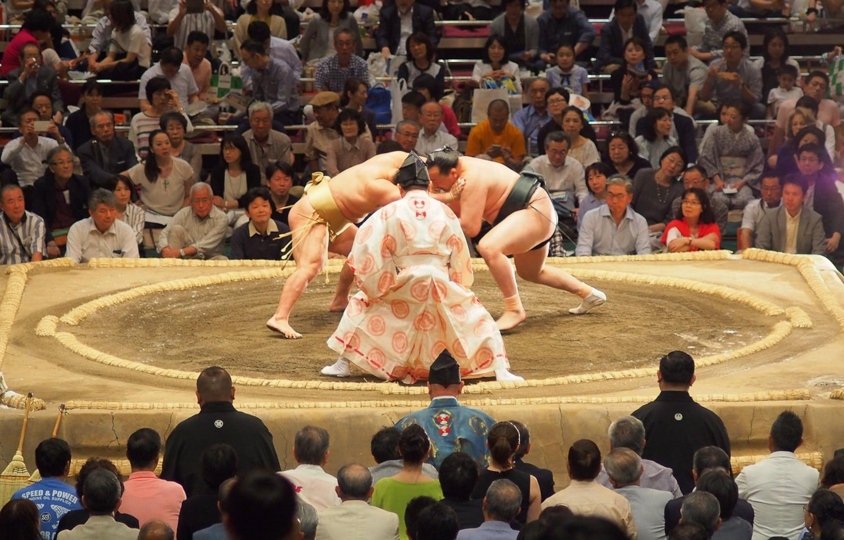 วิธีไปดูซูโม่ที่ญี่ปุ่น