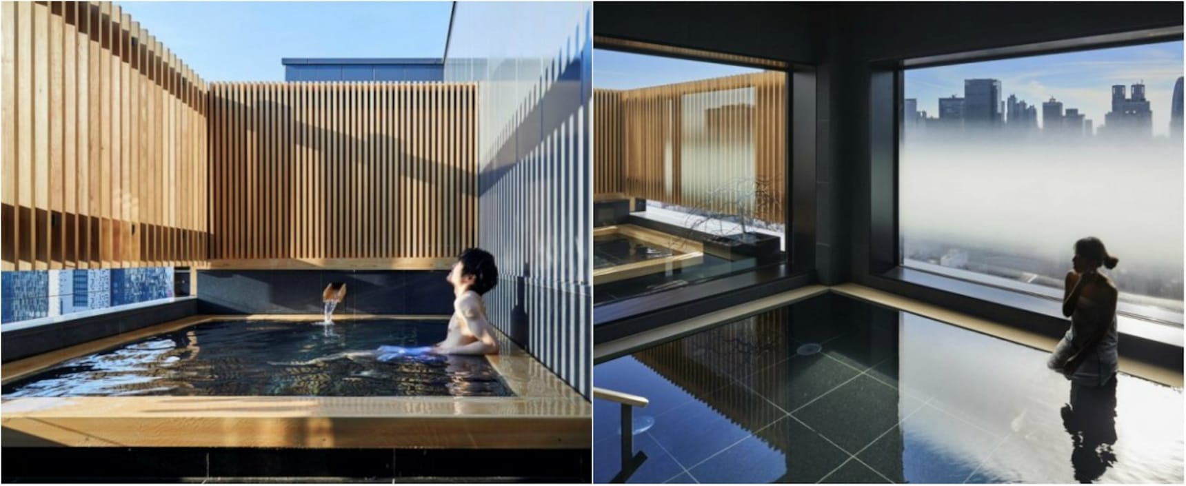 Luxurious Onsen Hotel in the Heart of Tokyo