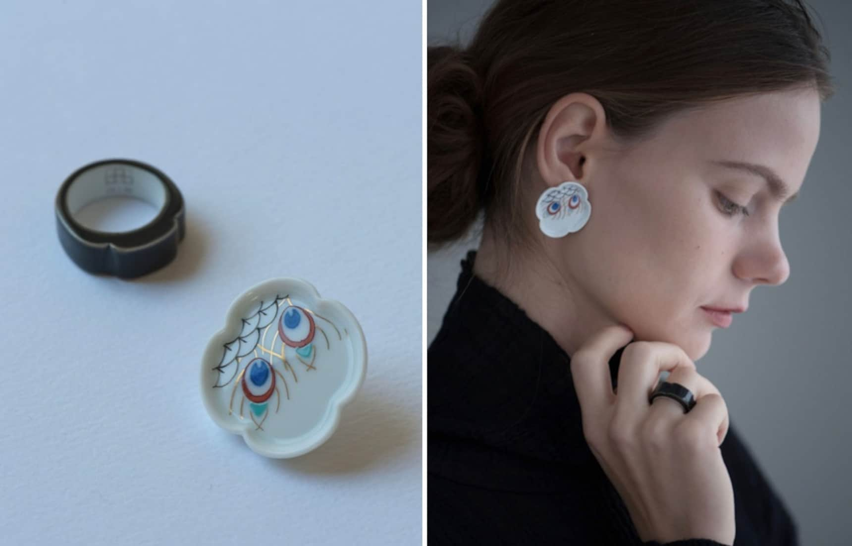 Imari Porcelain Jewelry is a Handmade Dream