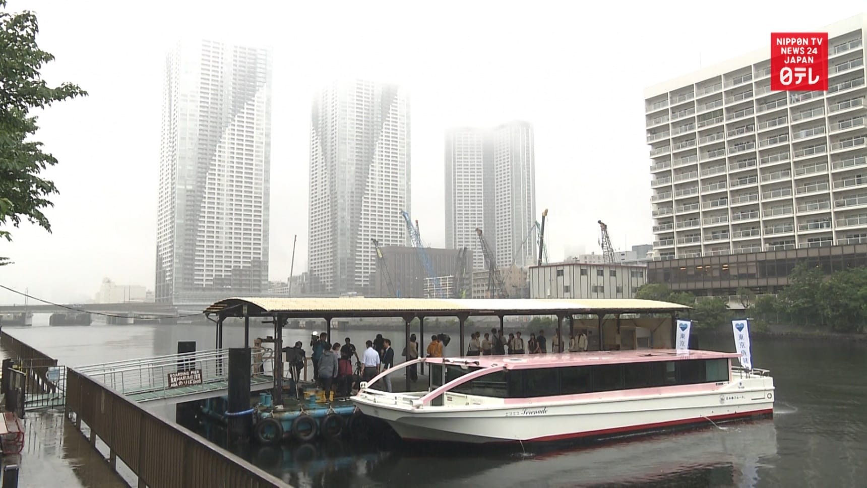 Boats Could Ease Tokyo Olympic Congestion