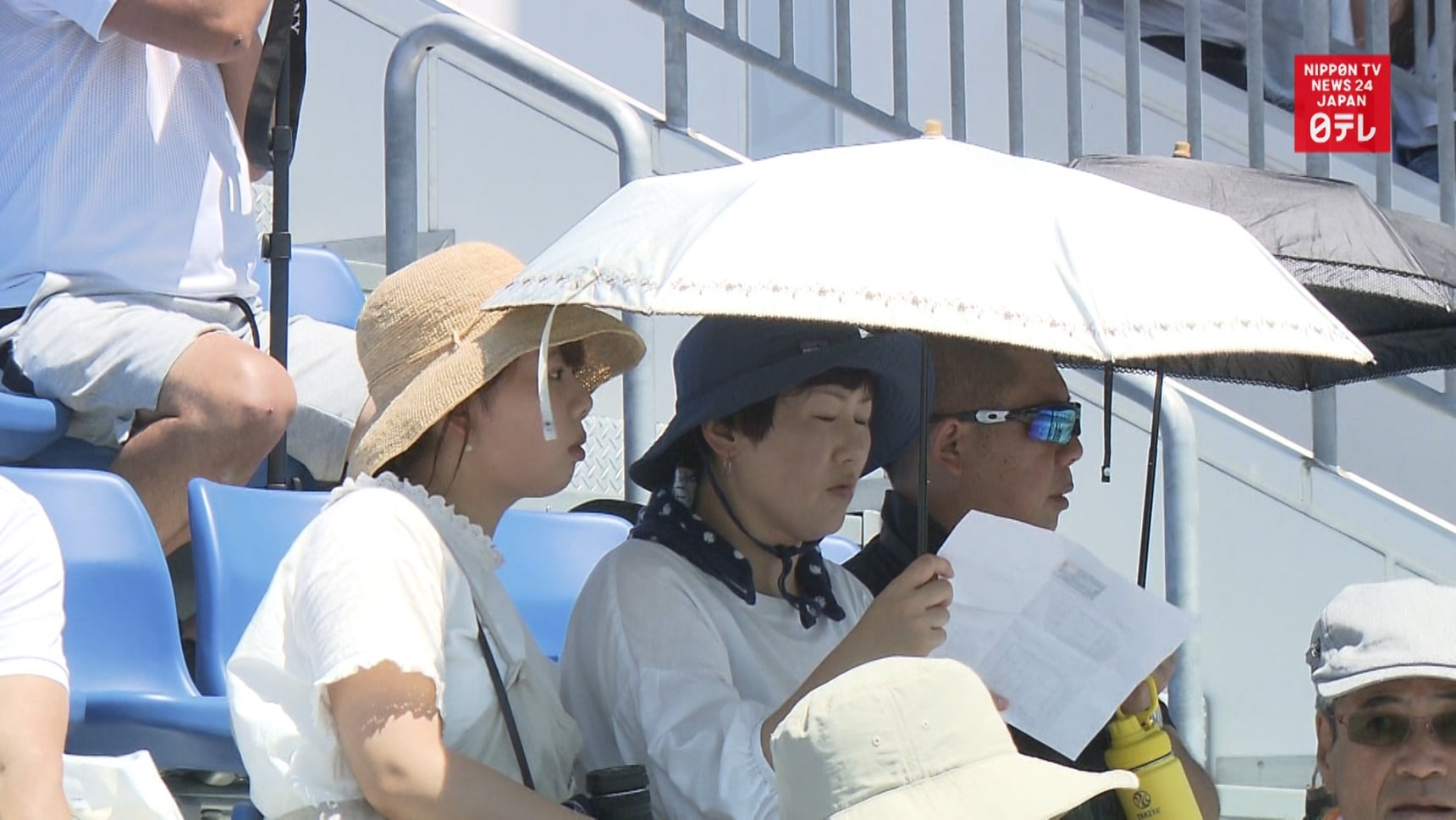 Olympic Planners Study Tokyo's Sizzling Summer