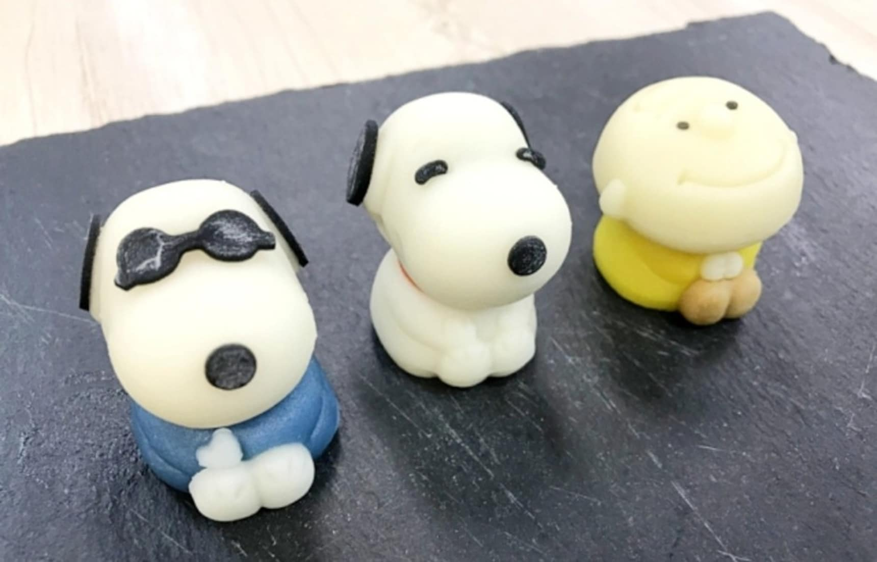 Traditional Japanese Sweets Celebrating Snoopy