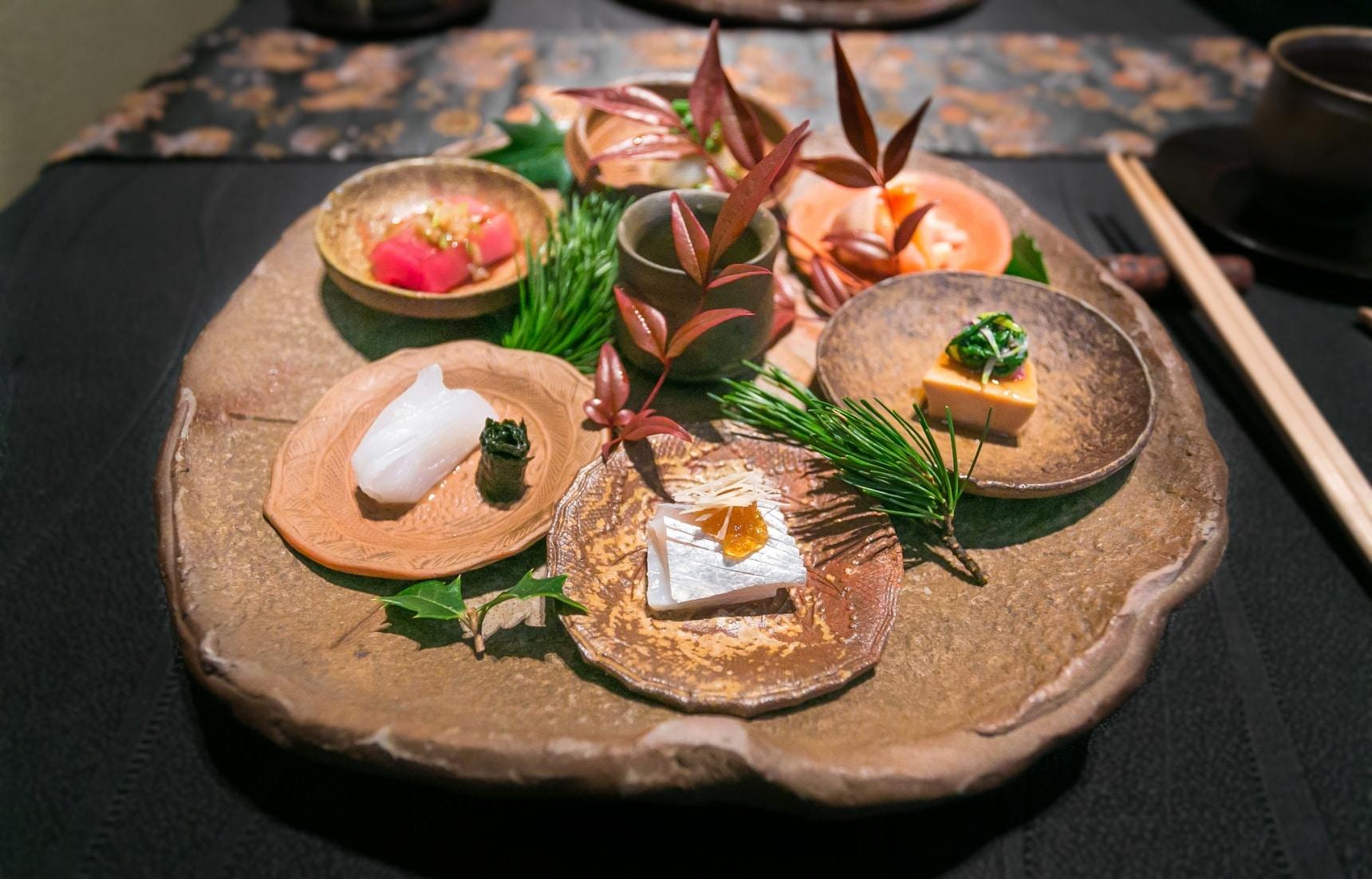 用料理感受四季|蟬聯米其林三顆星八年榮耀的日本料理「龍吟」