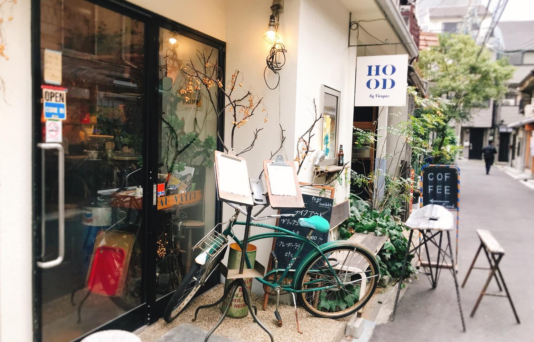 【大阪偶遇好店】隱身在新舊融合巷弄中的無機質咖啡廳「HOOD by Vargas」