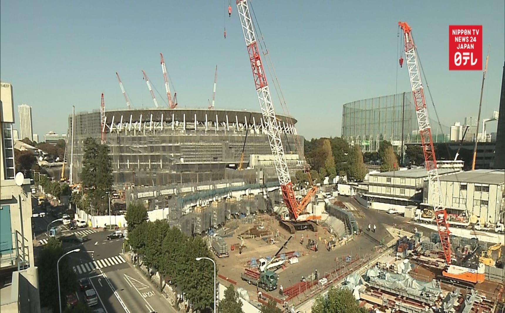 TIME-LAPSE: Tokyo Olympic Stadium