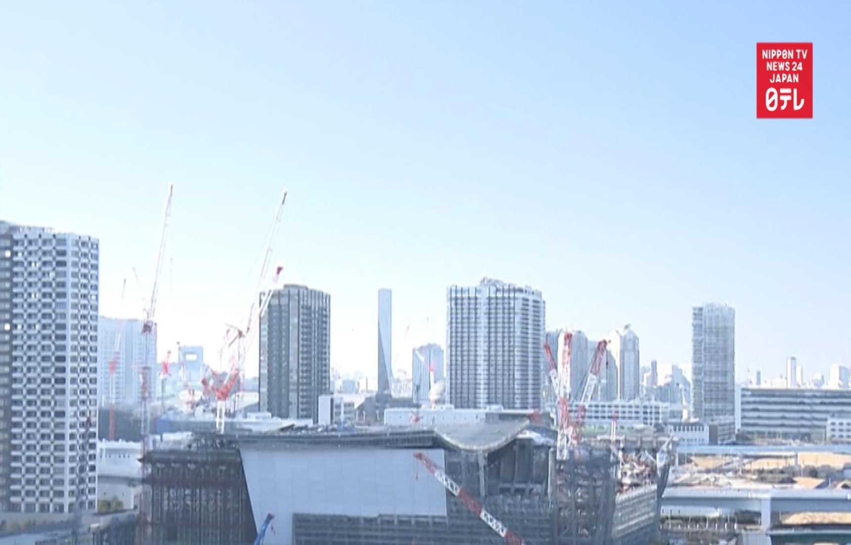 TIME-LAPSE: Tokyo Olympics Ariake Arena