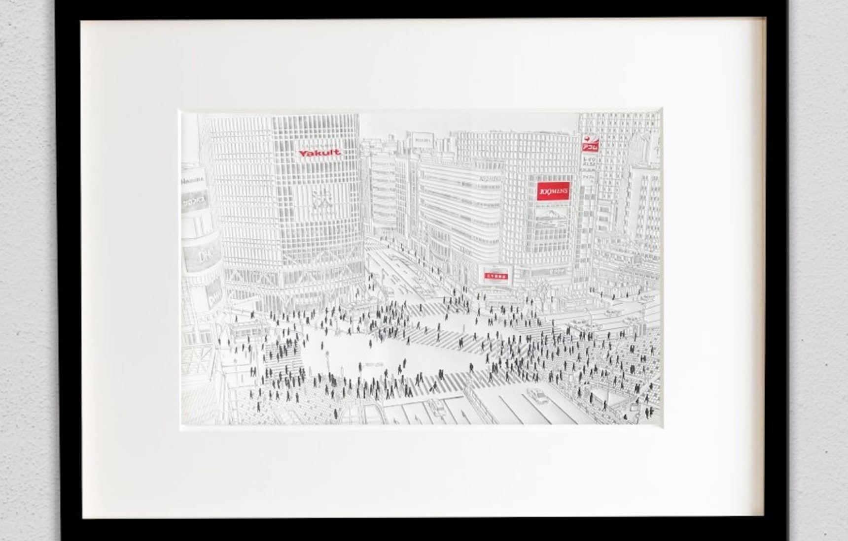 Paper Relief Images Capture the Glory of Tokyo