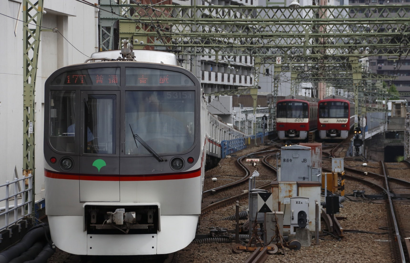 ลุยที่เที่ยวติดรถไฟสาย Toei Asakusa Line