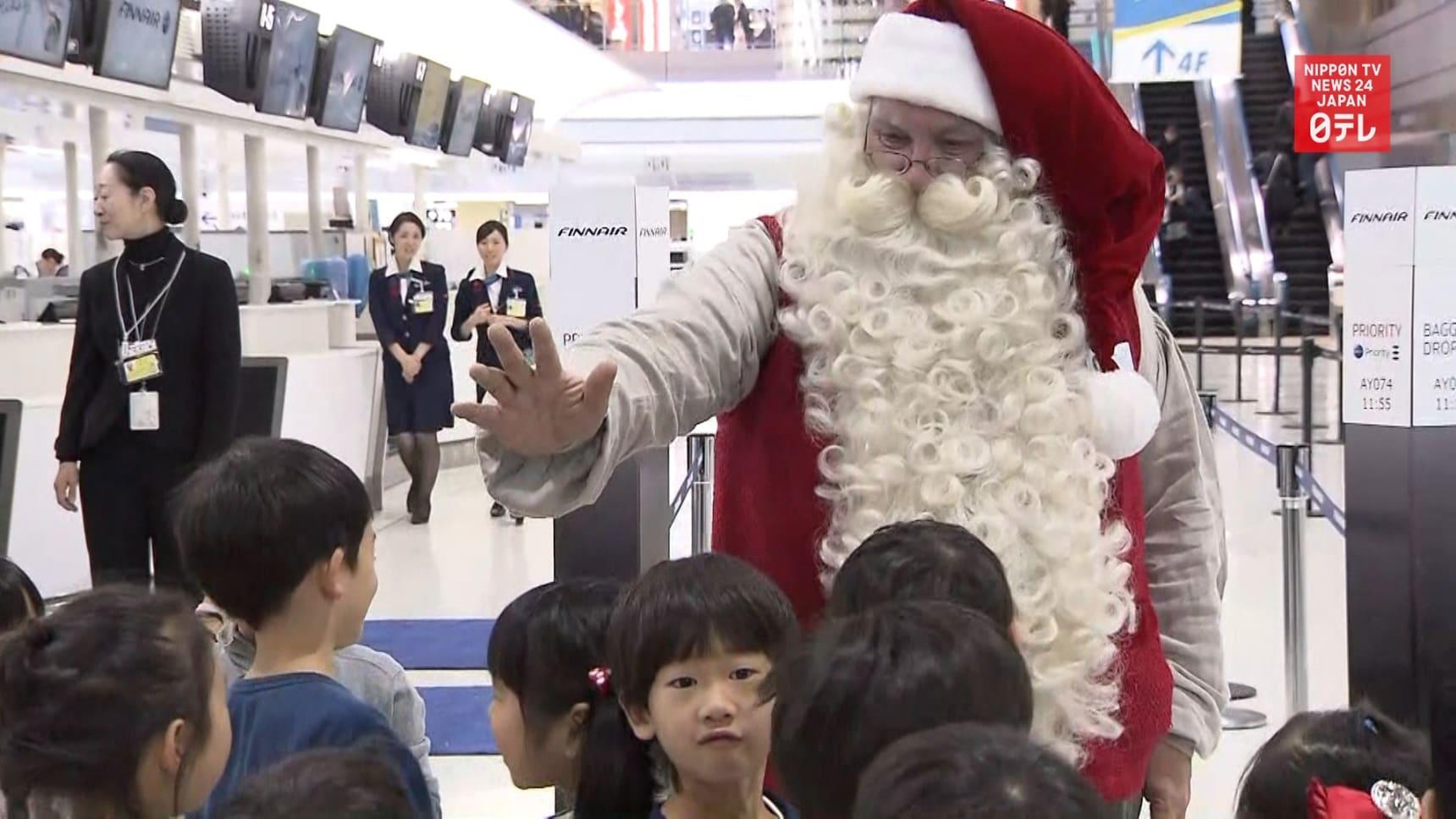 Santa Claus Comes to Japan