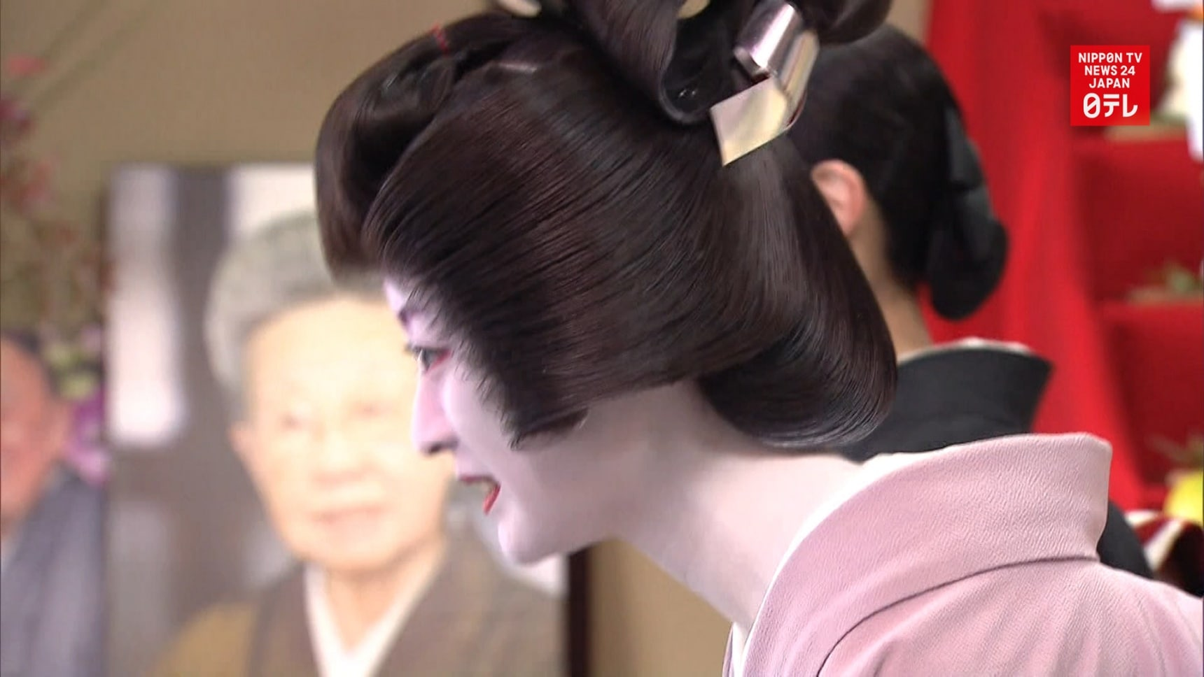 Geisha in Kyoto Prepare for New Year
