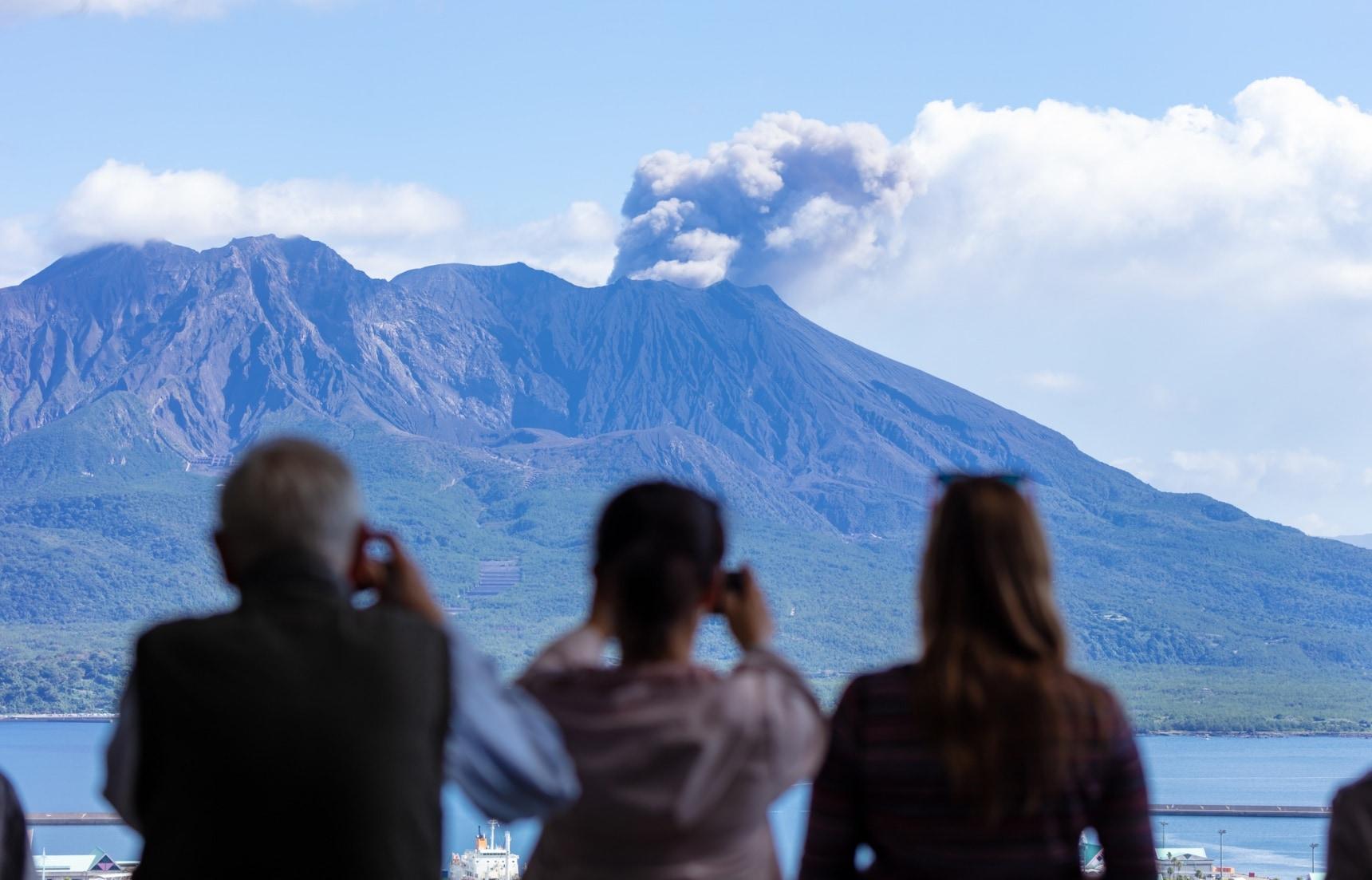 เที่ยวคาโกชิม่า เกาะภูเขาไฟของเจ้าหญิงอัตสึ