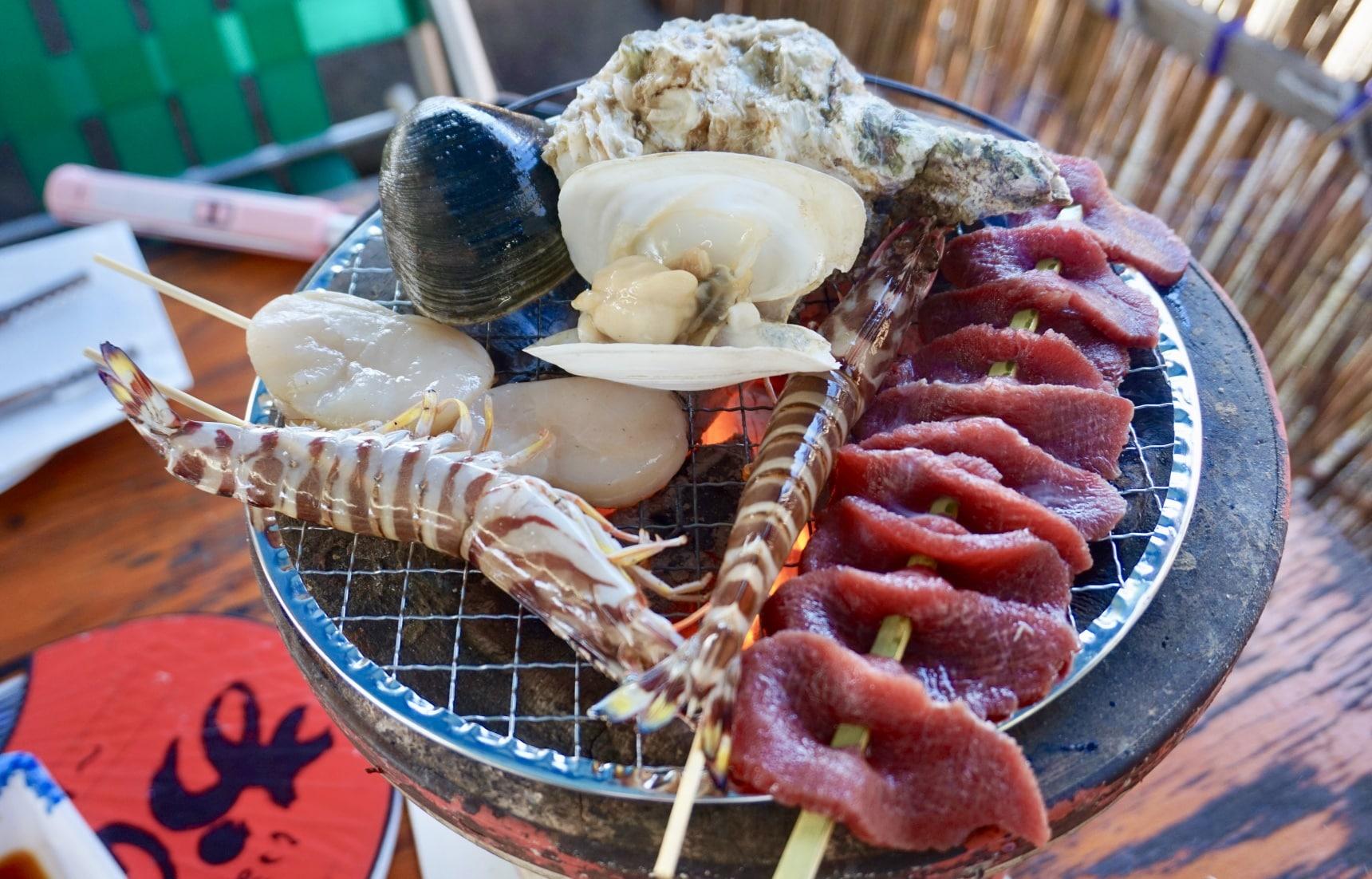 吃貨週末行!愛媛來島海峽急流觀潮兼豪吃海鮮BBQ之旅