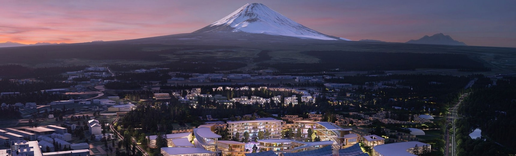 Toyota's Future City Near Mount Fuji