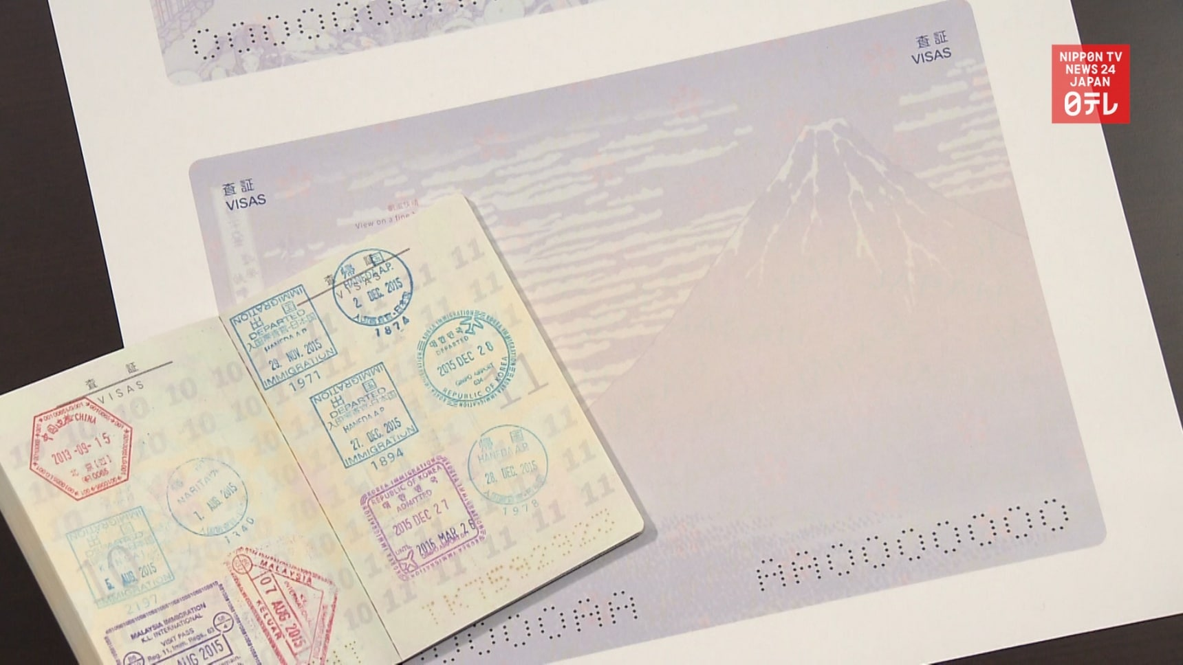 New Japanese Passports Feature Famous Artworks