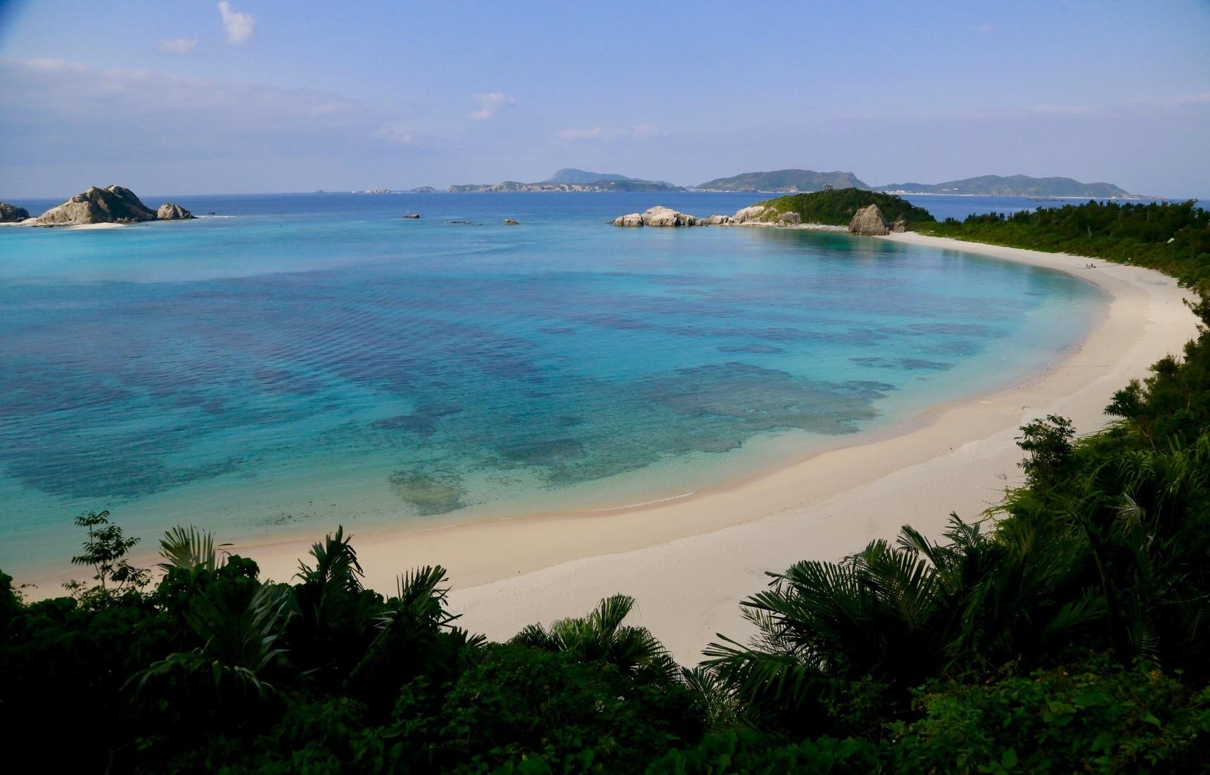 일본의 자랑, 파라다이스를 담은 바다