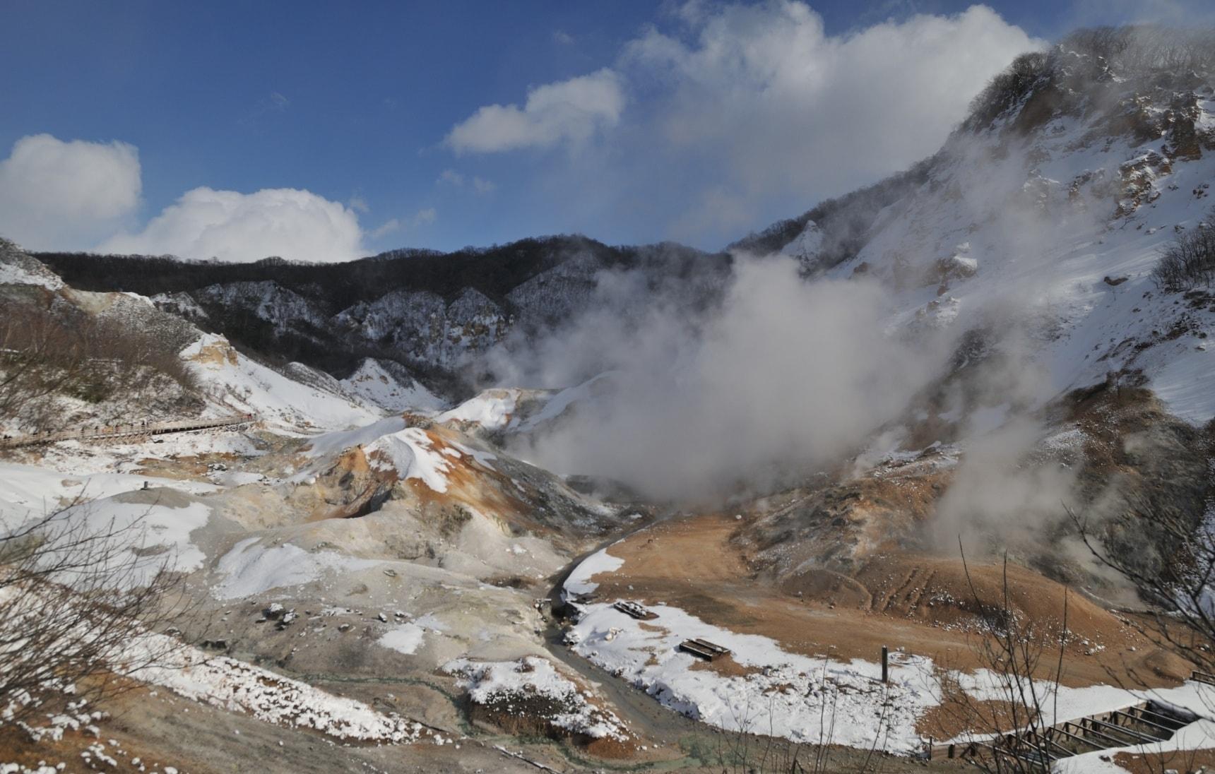 시코쓰토야 국립공원의 격정적이면서도 고요한 위엄