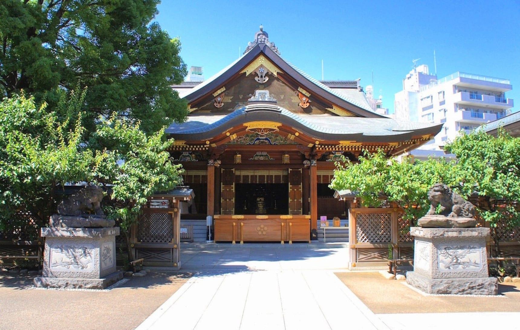 古老建筑的背后,有怎样痴男怨女的动人故事?东京打卡圣地——汤岛天神