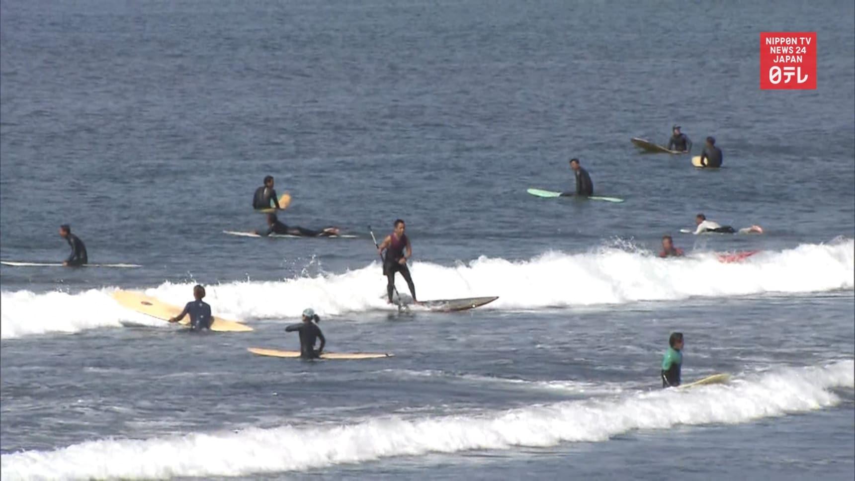 Kanagawa Prefecture Tells Visitors to Stay Put