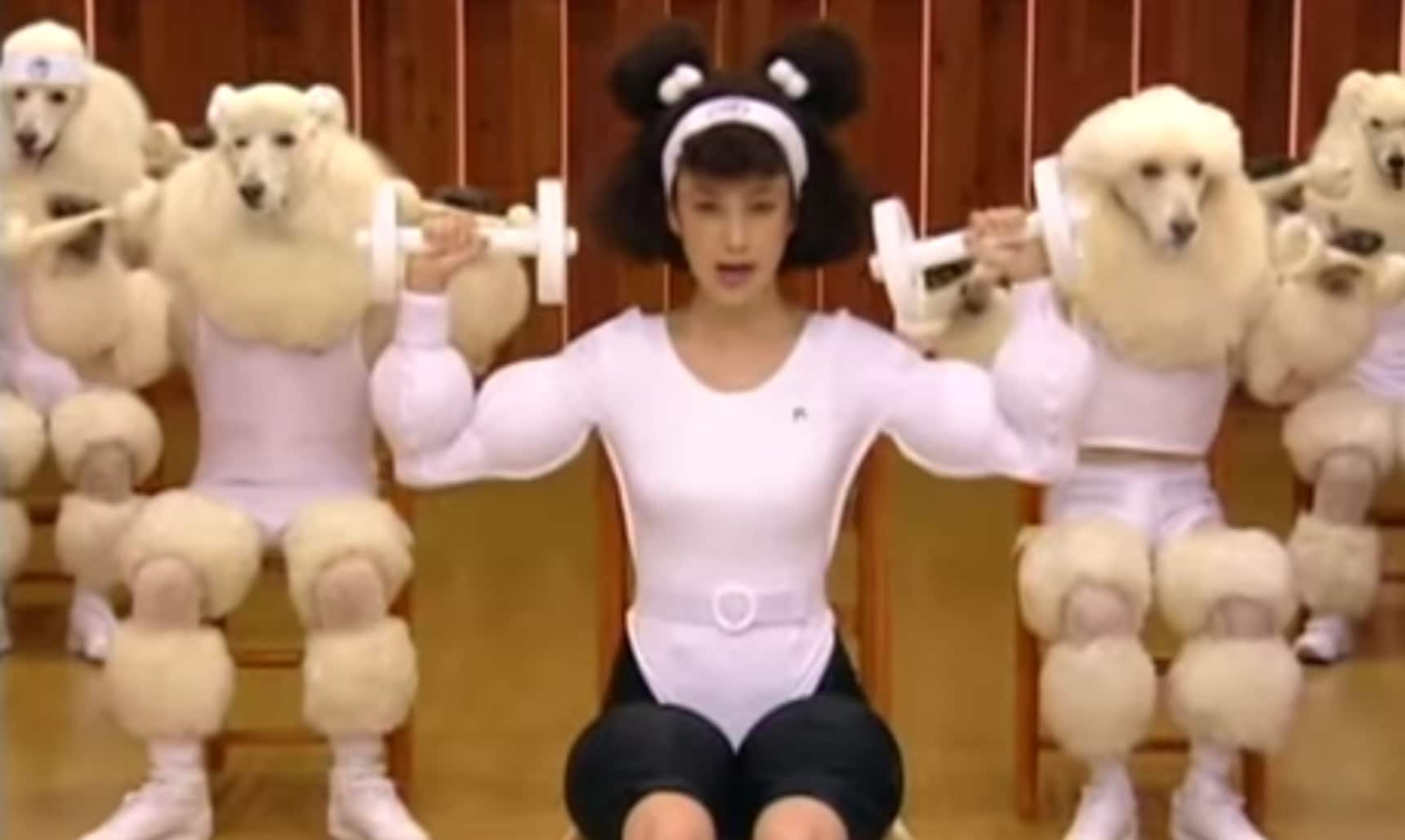 3 Japanese Workout Videos for Your Funny Bone