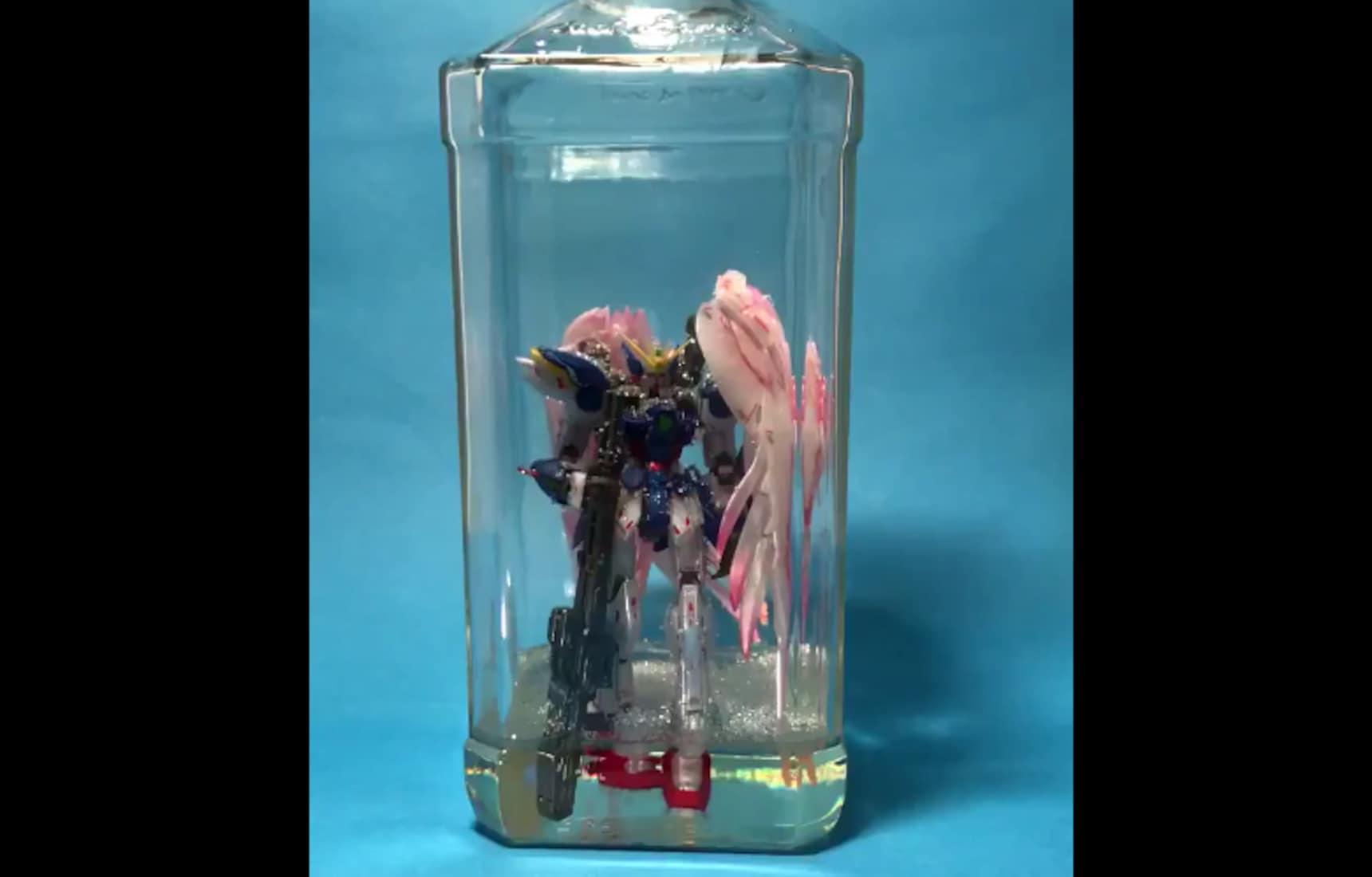 Gundam in a Bottle