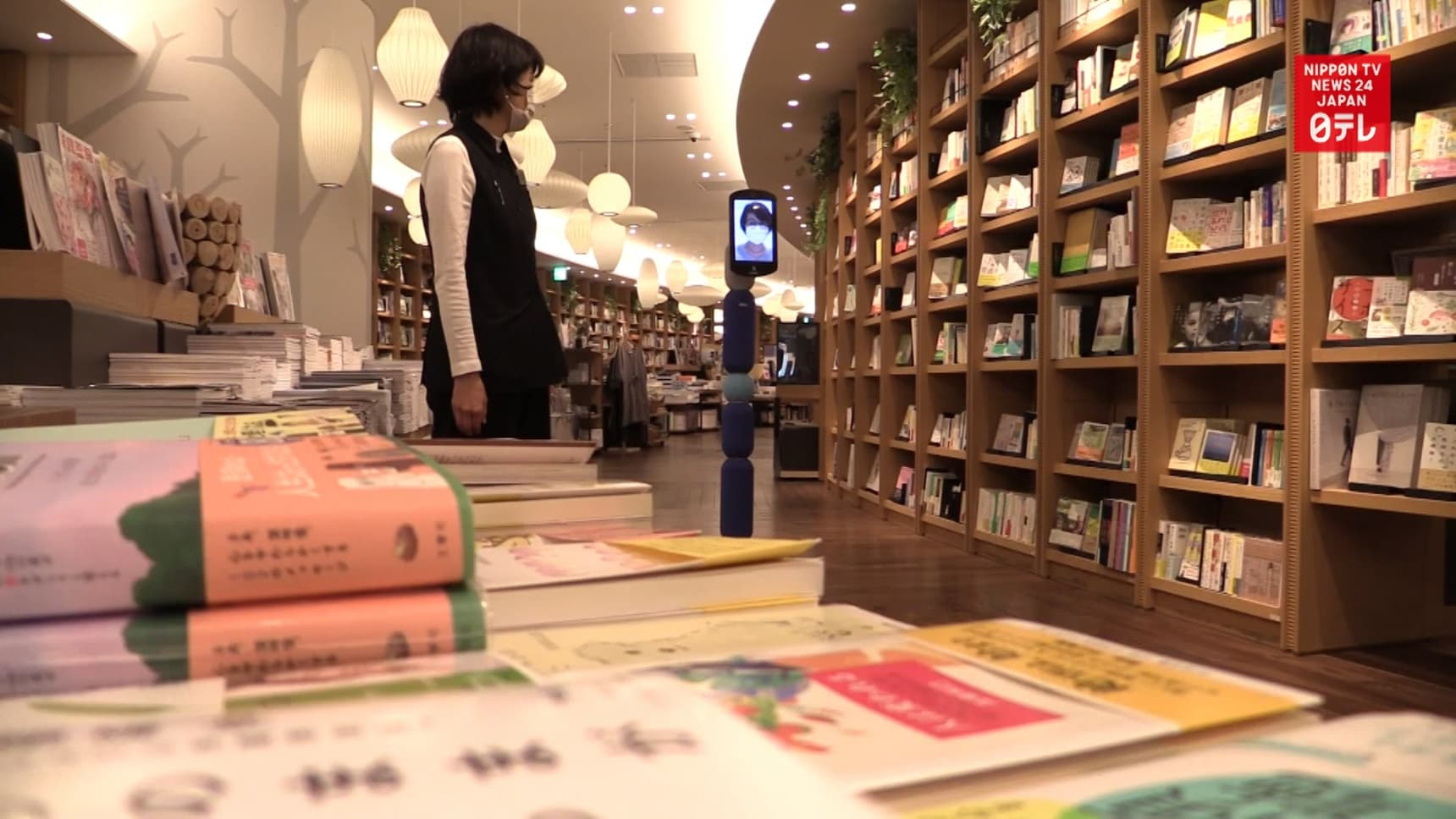 Virtual Shopping Via Robot